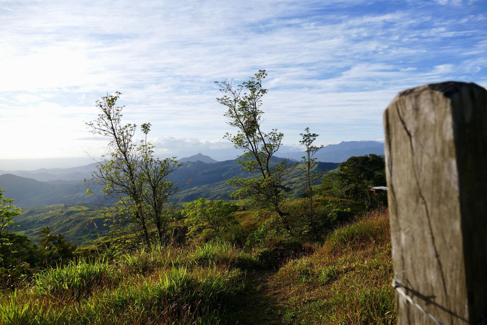 Die Landschaft um Boquete ist wunderschön