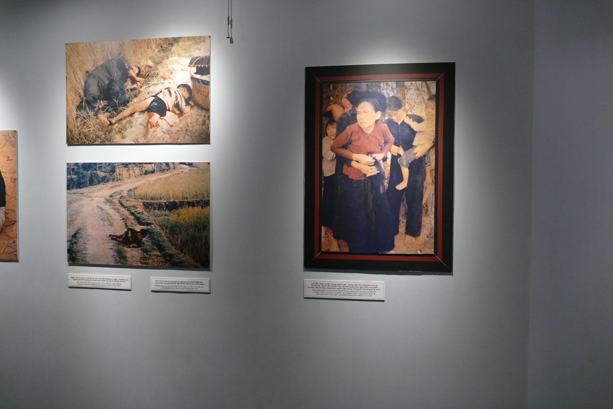 Ungeschönte Bilder im Kriegsopfer-Museum