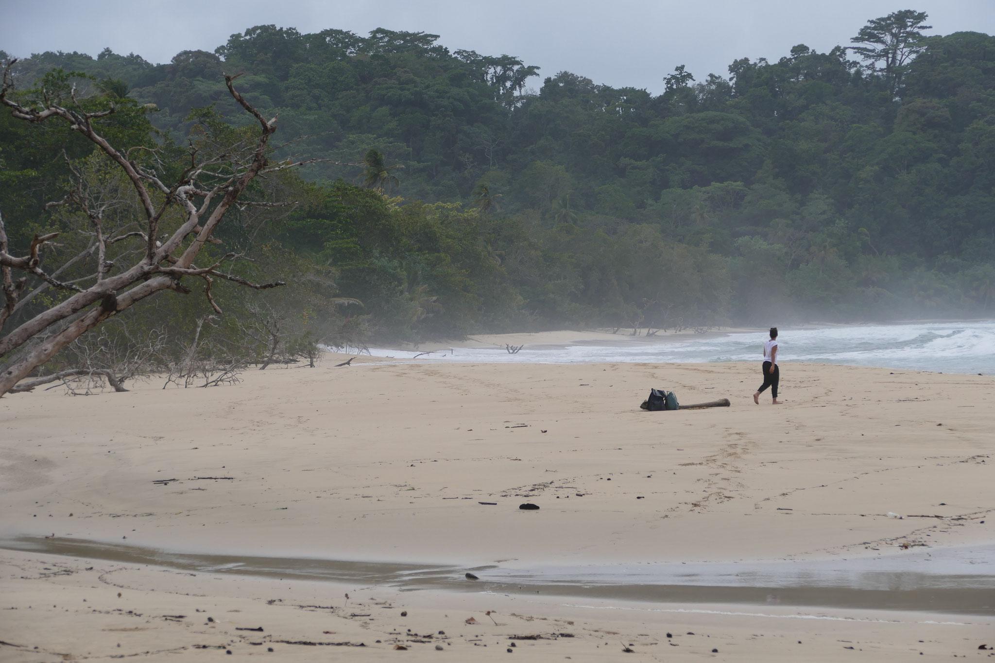 Wizard Beach an einem stürmischen Tag