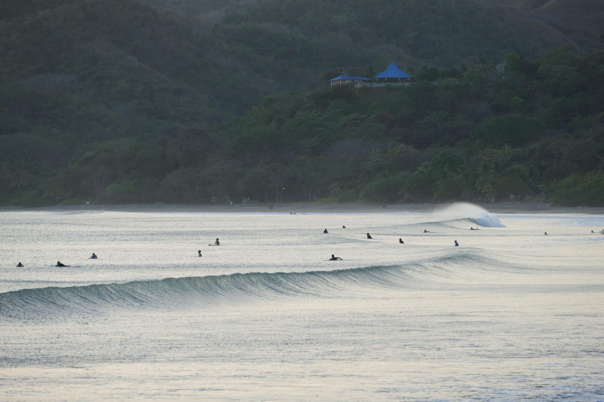 Surfen bei Playa Venao
