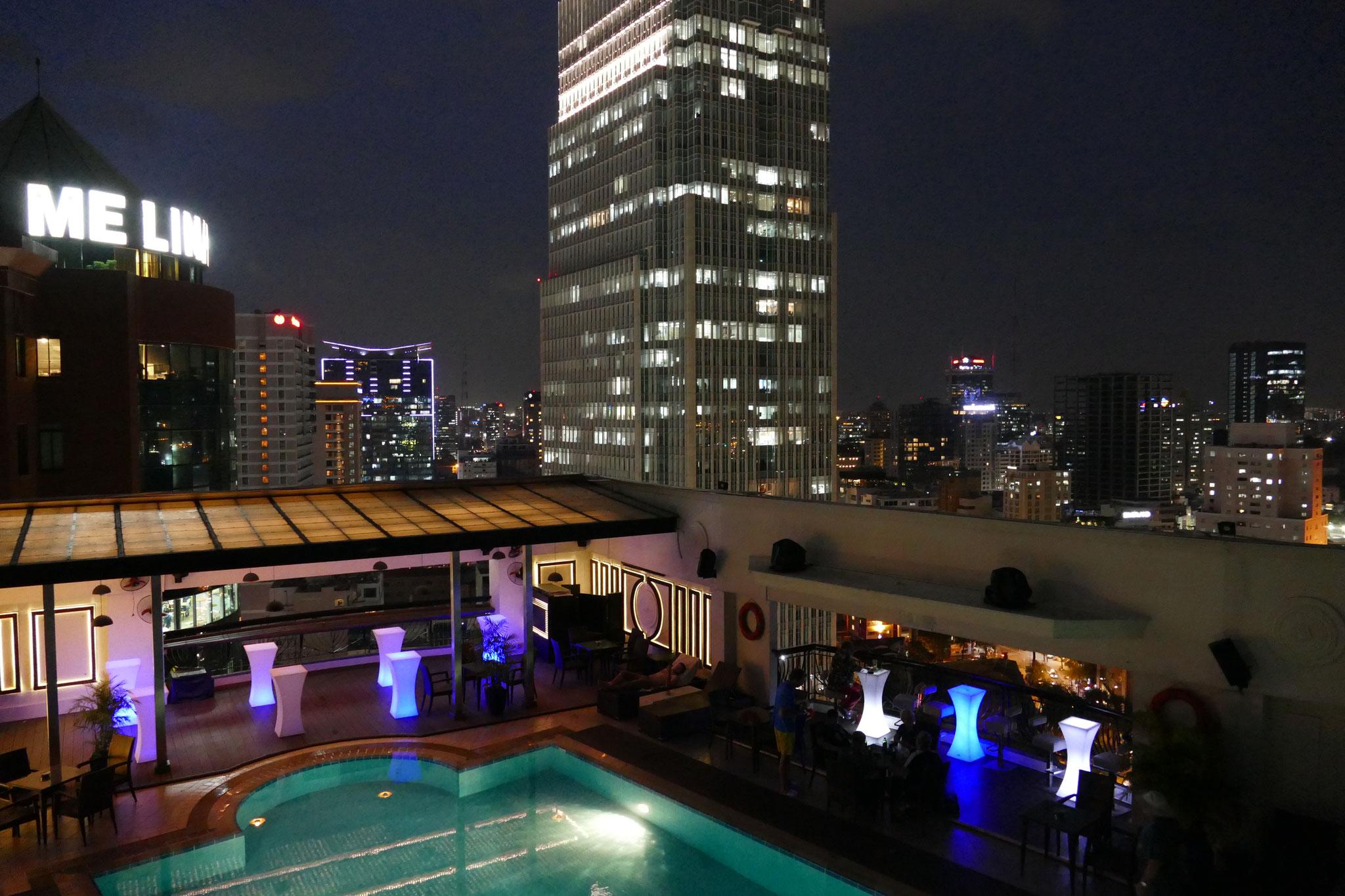 Die Aussicht vom Renaissance River Hotel