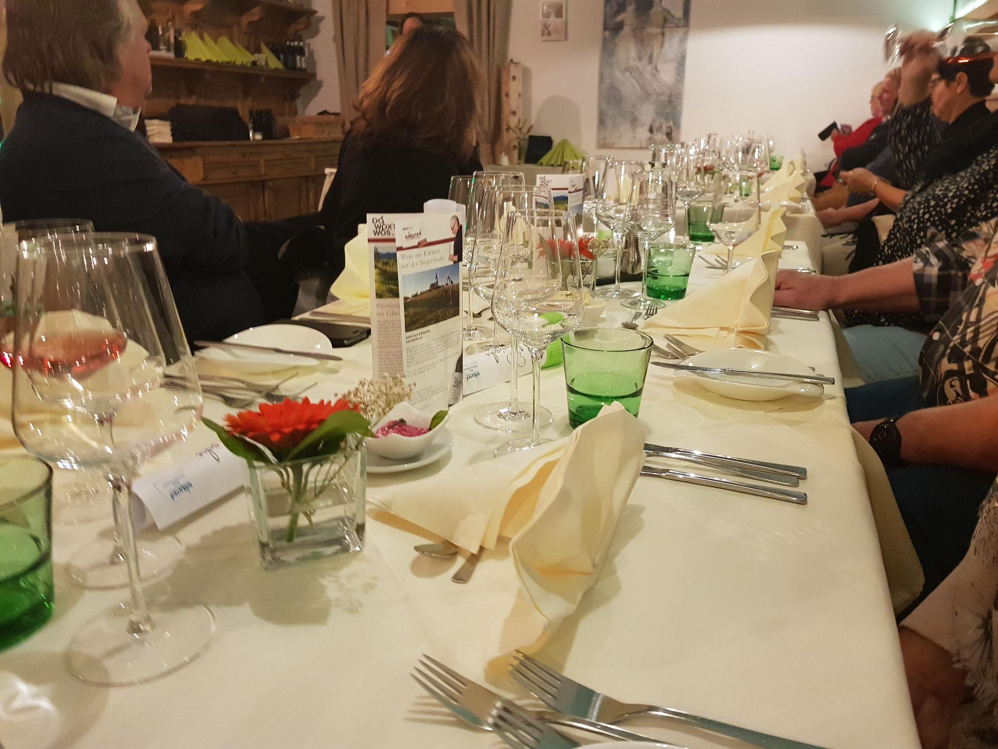 Kulinarische Nächte im Restaurant Adriana