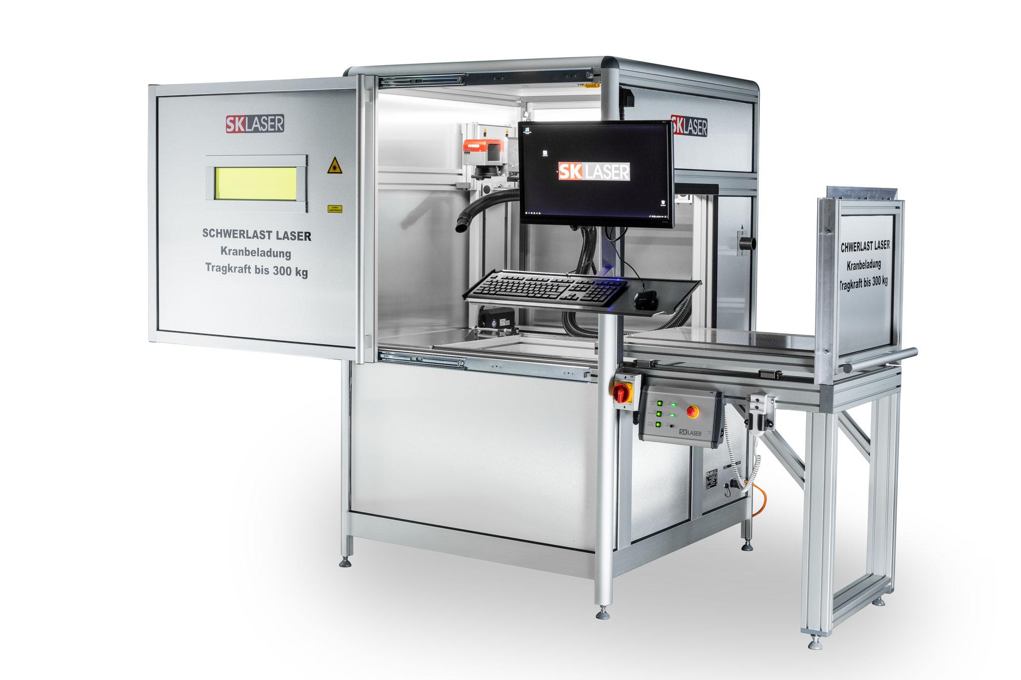 Schwerlast-Lasermaschine