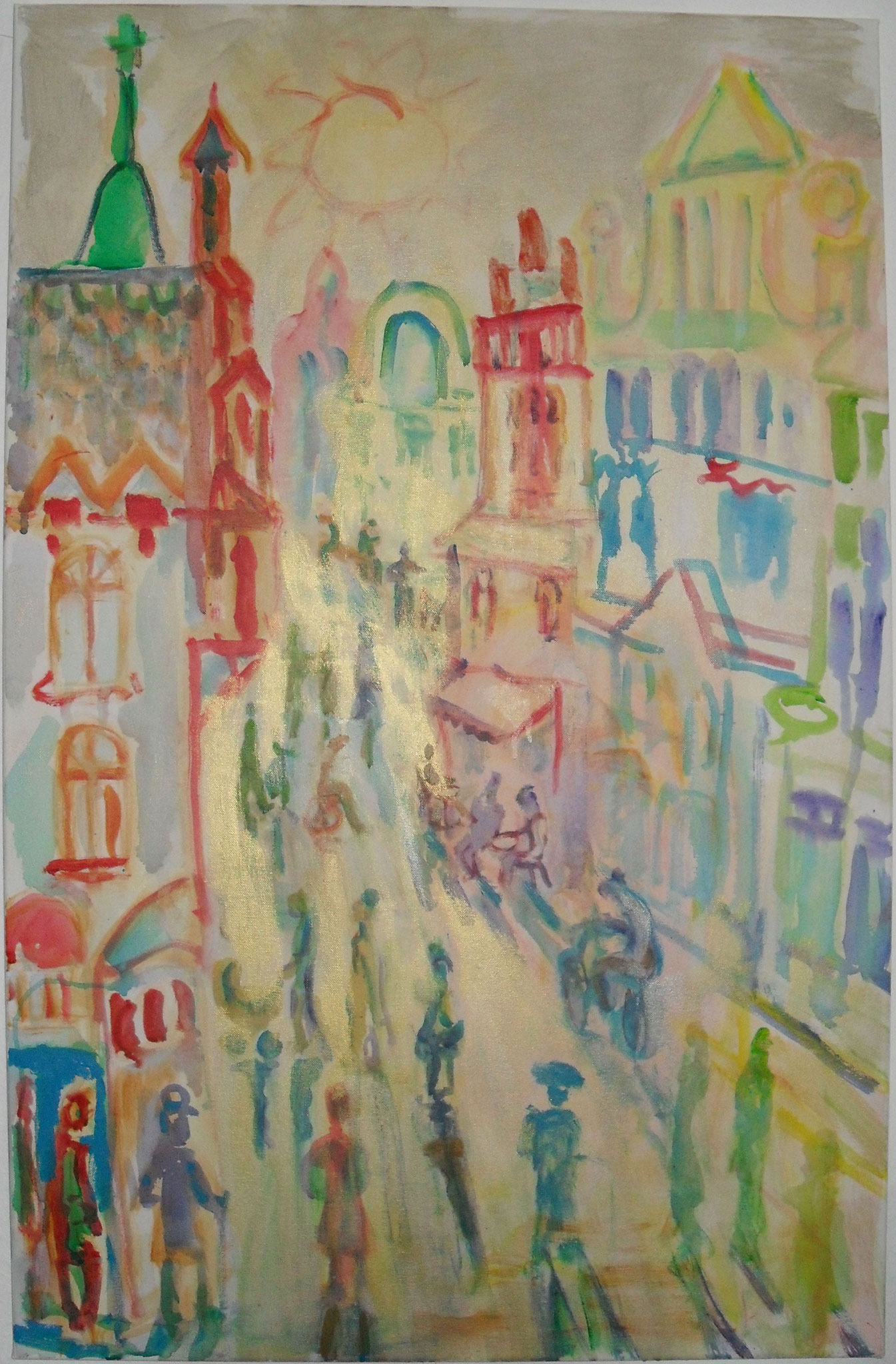 Die goldene Straße von Wismar