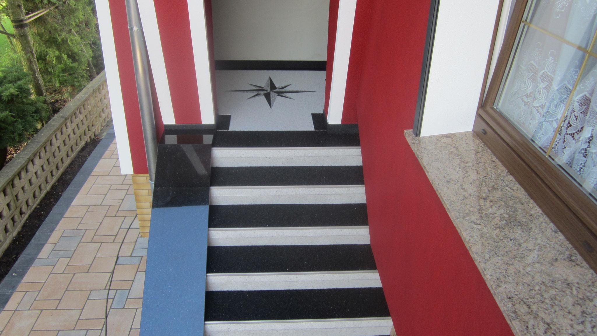 schöne Treppensanierung in Sömmerda
