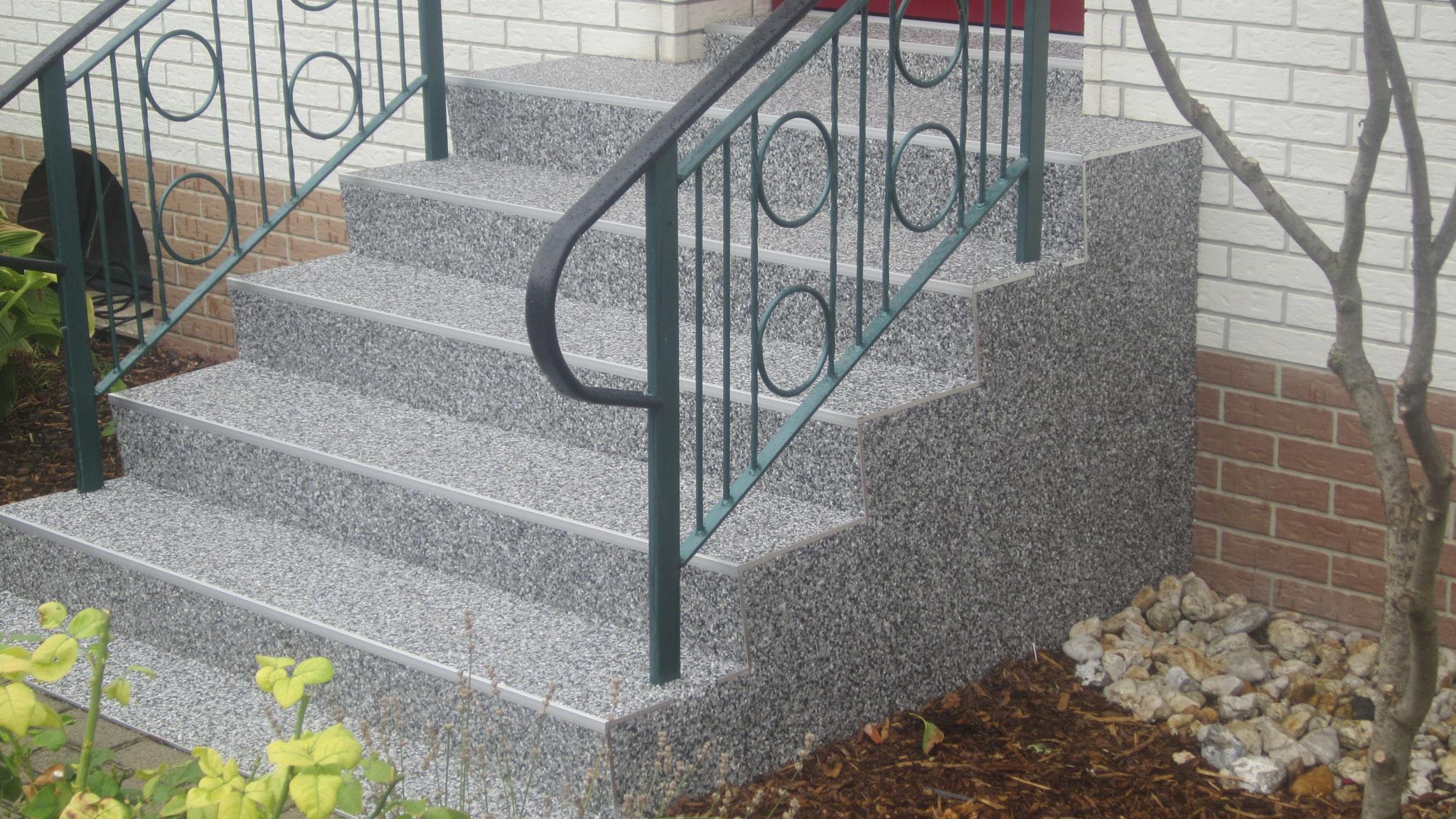 Treppenbeschichtung bei Bad Frankenhausen