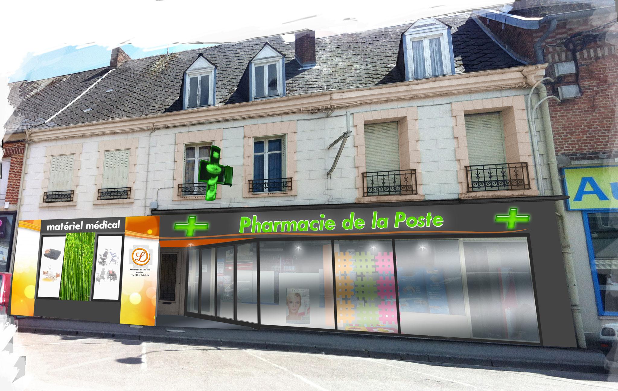 Projet - façade retenue