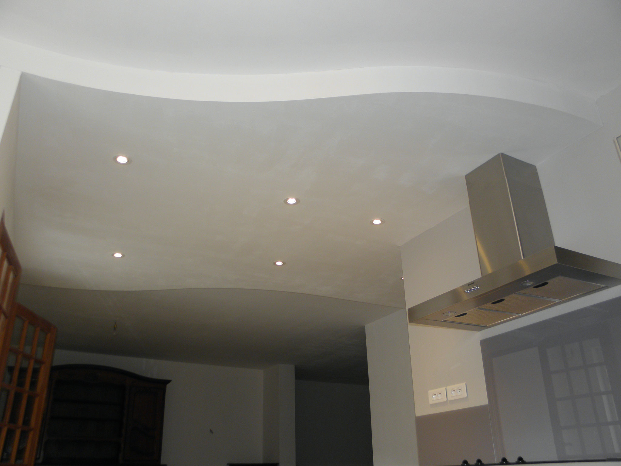 faux plafond courbe