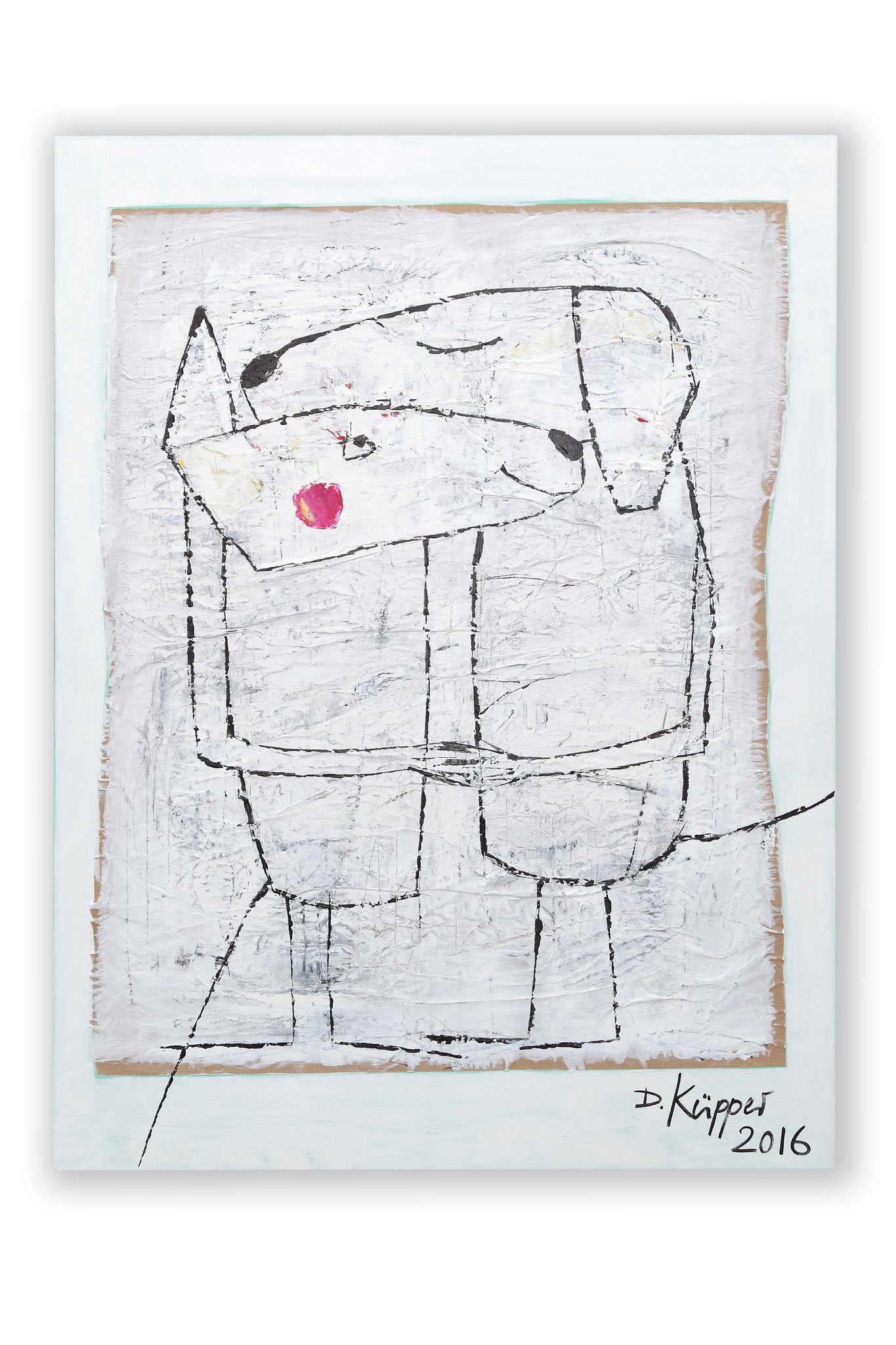 """Im Einklang"" - 90x110cm - Preis: 390 Euro"