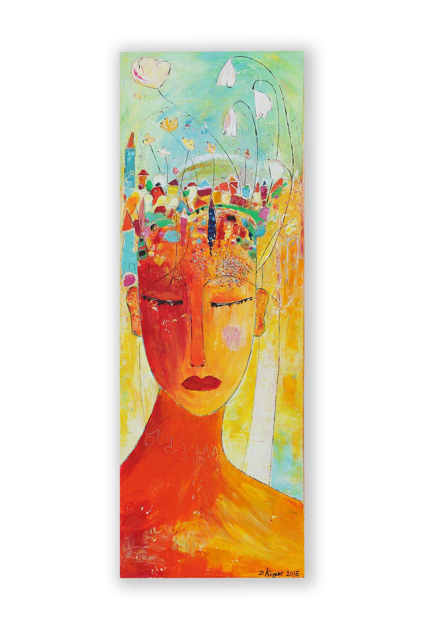 """Traum"" - 40x100cm - Preis: 230 Euro"