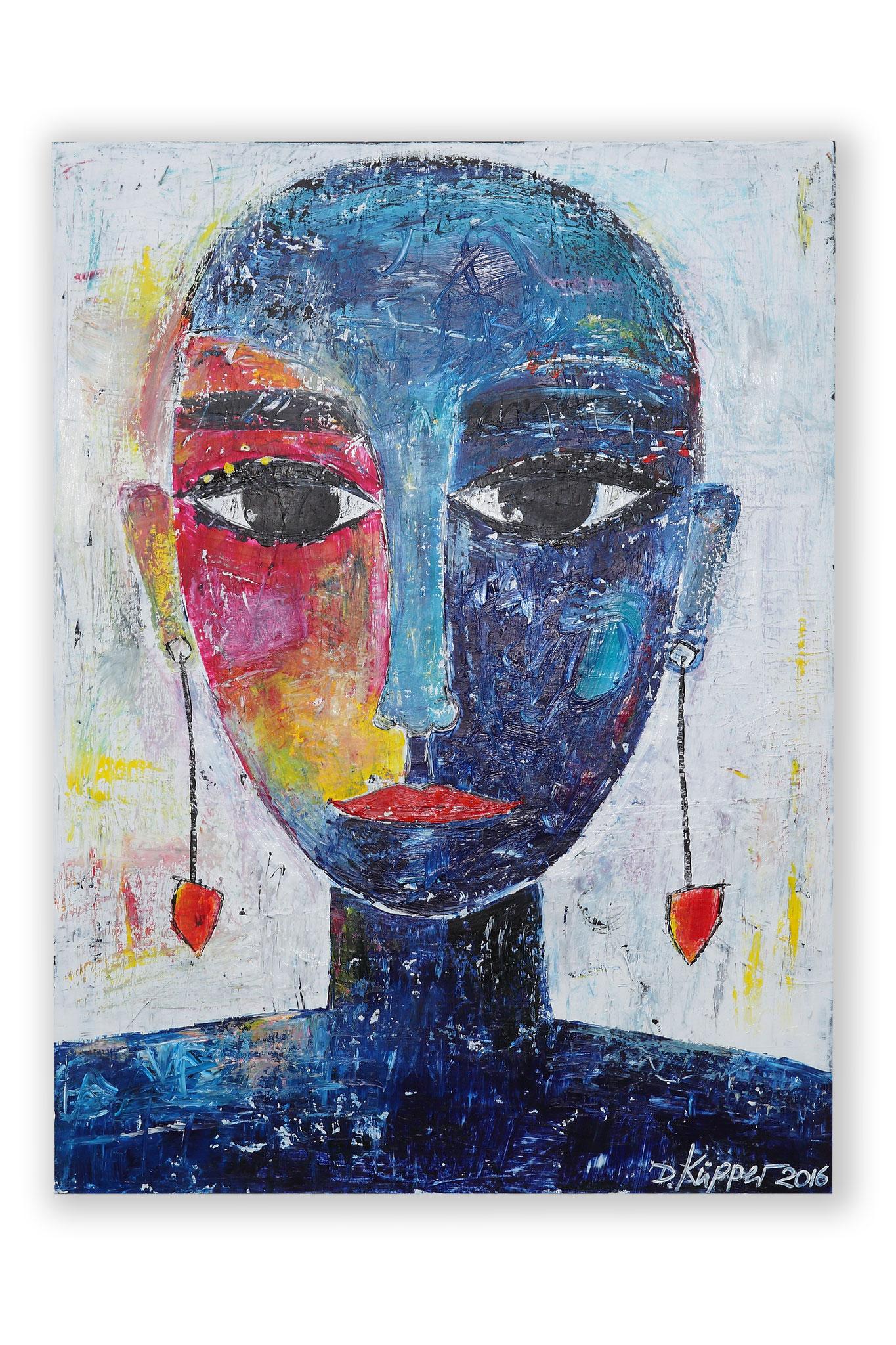 """""""Mädchen mit Ohrringen"""" - 60x80cm - Preis: 270 Euro"""
