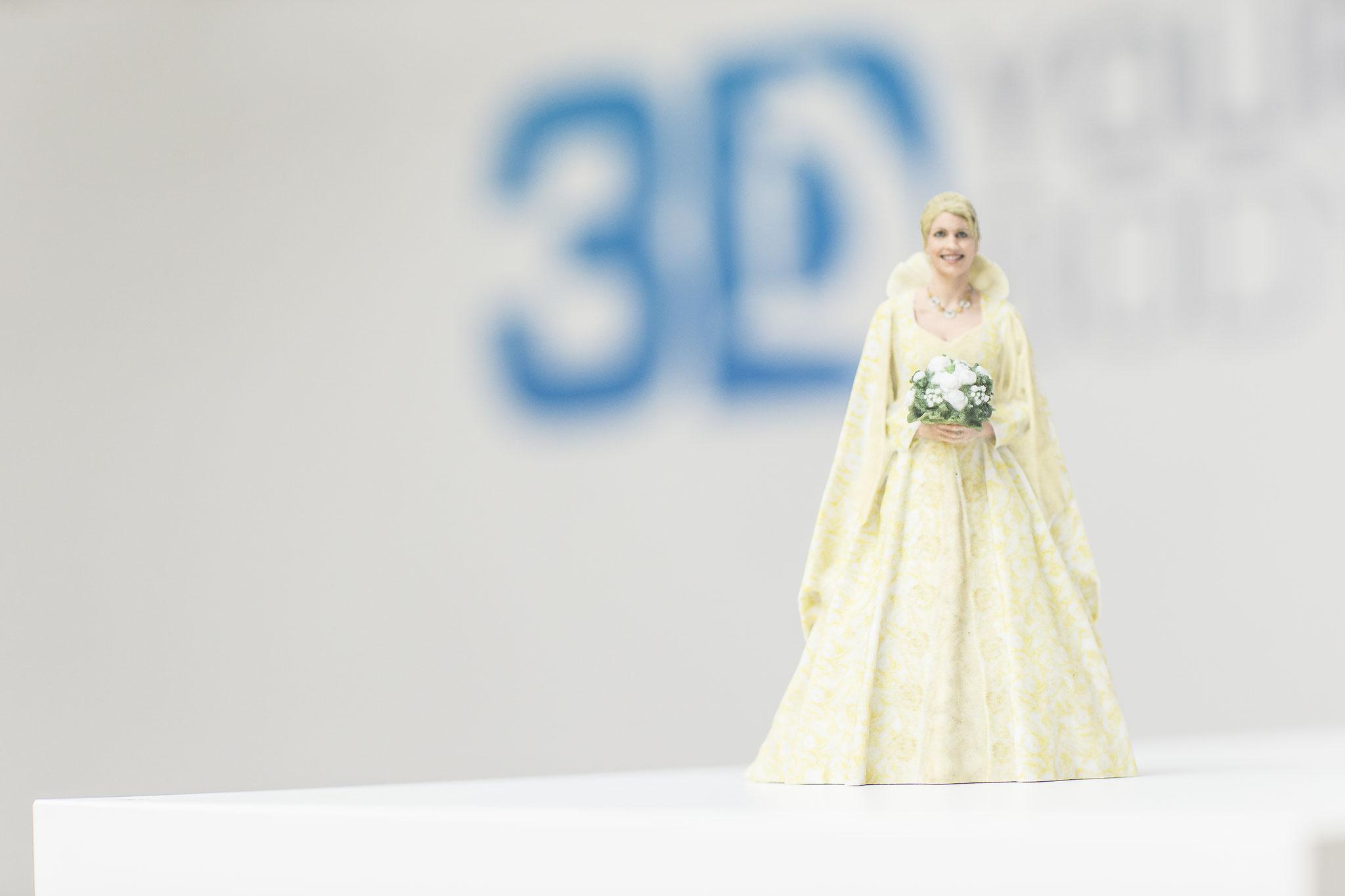 3D-Figur aus Berlin, München, Köln, Rostock und Dresden