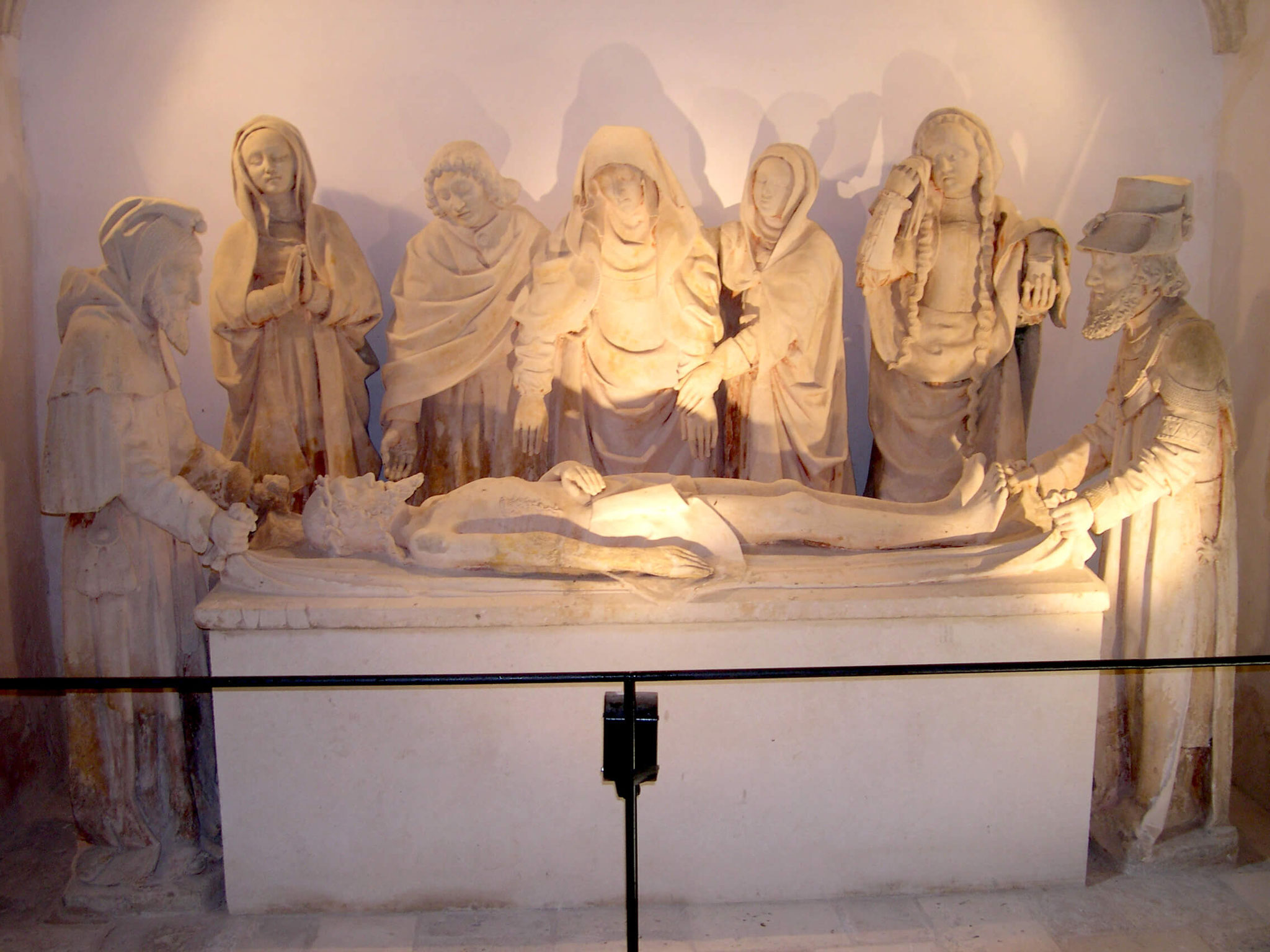 La mise au tombeau de Carennac