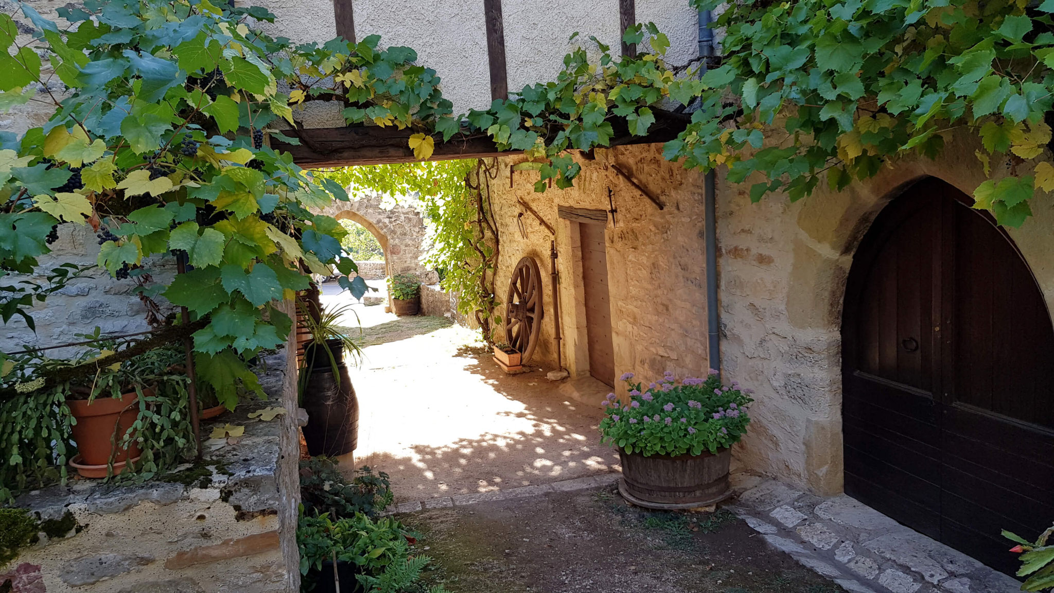 Porte ancienne Loubressac