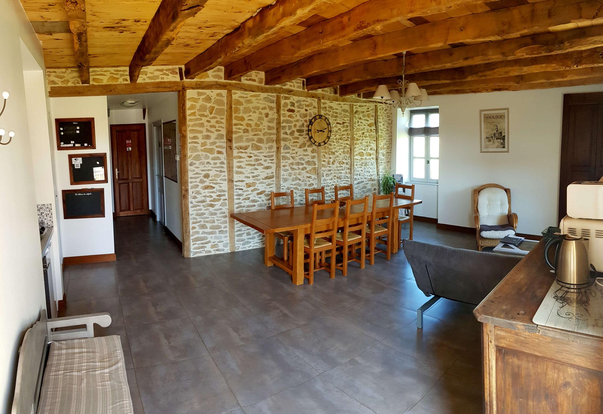 La pièce principale de 30 m2