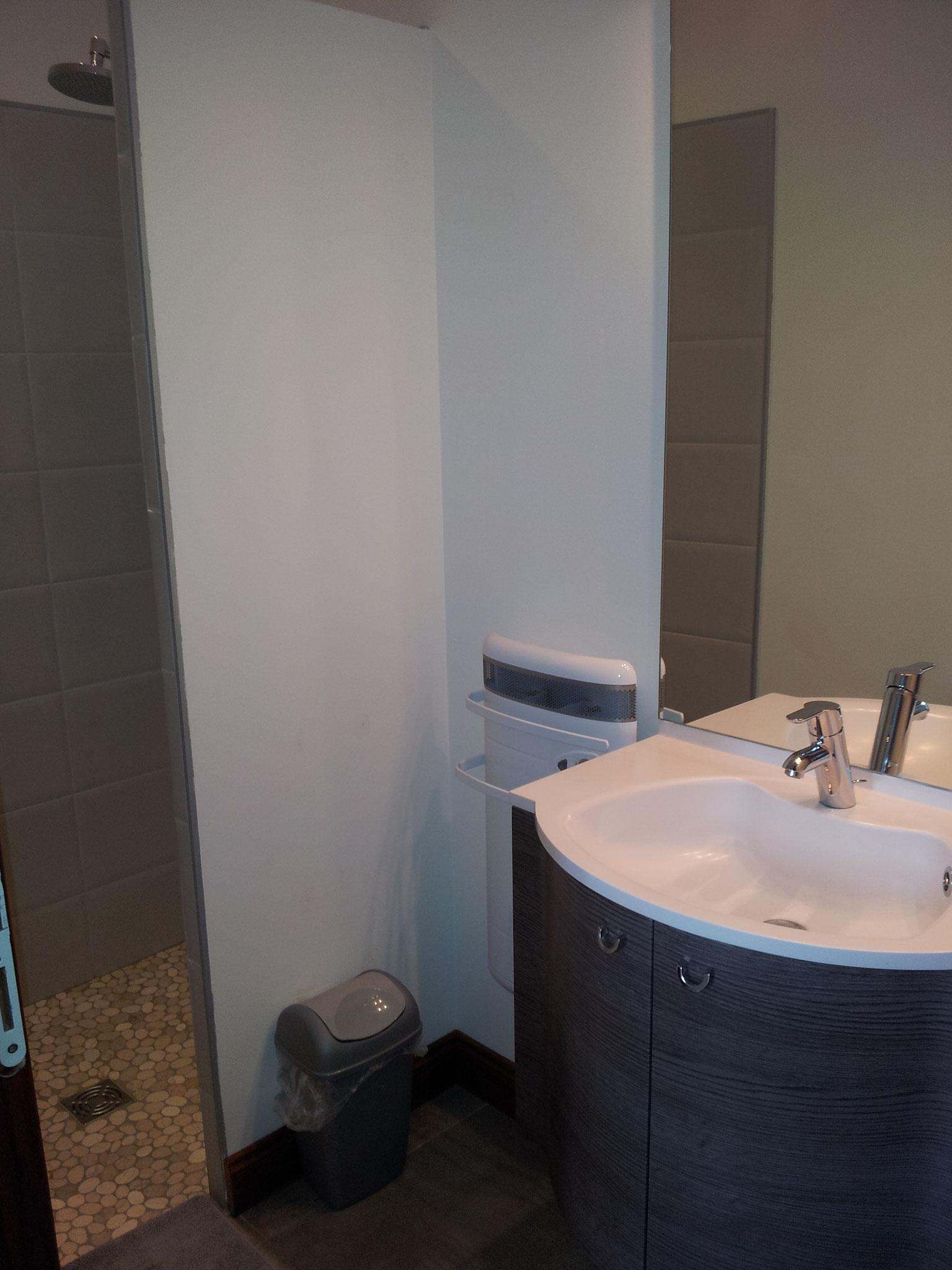 Salle de douche chambre Vallée