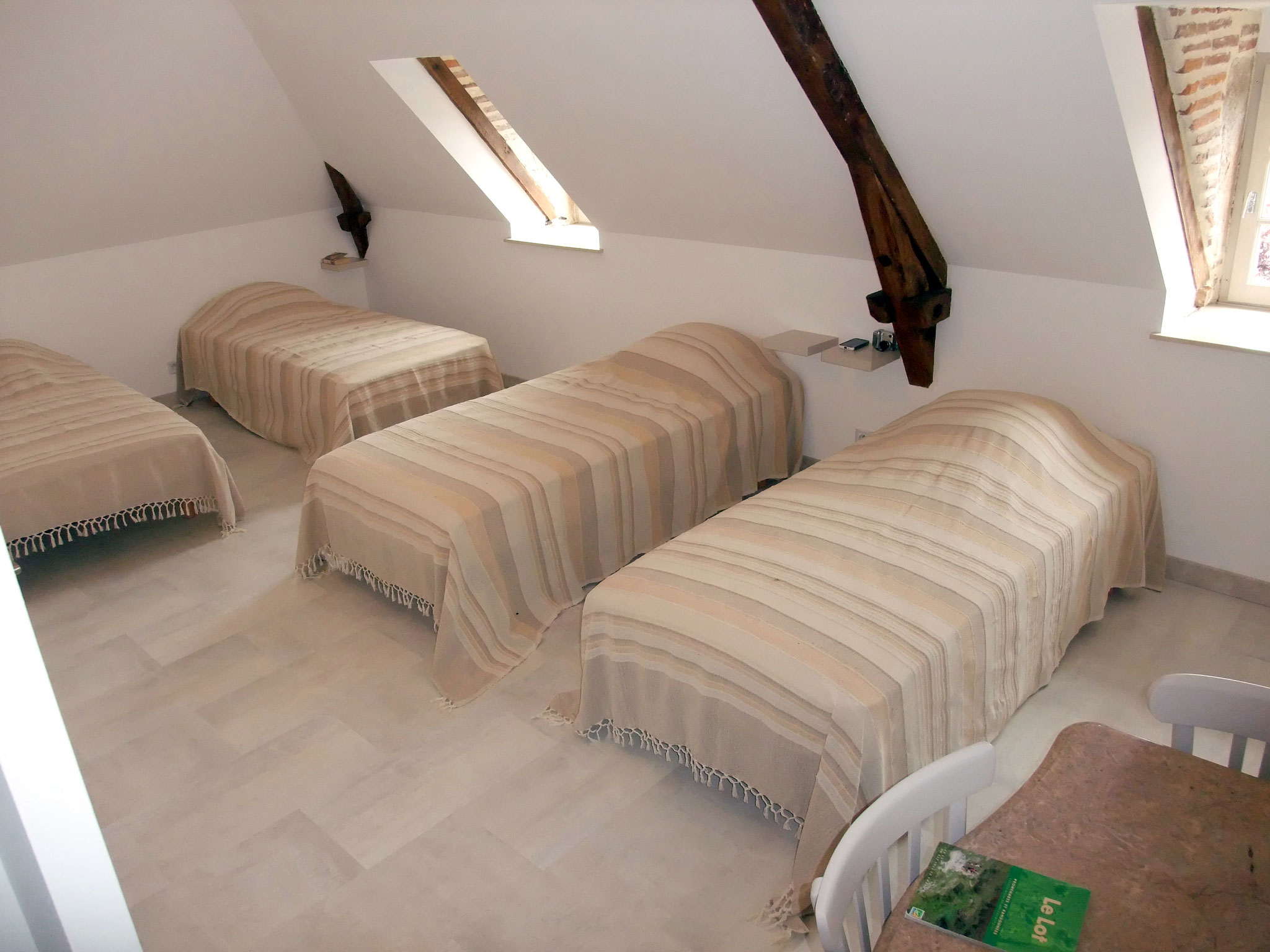 Chambre Causse : 4 pers