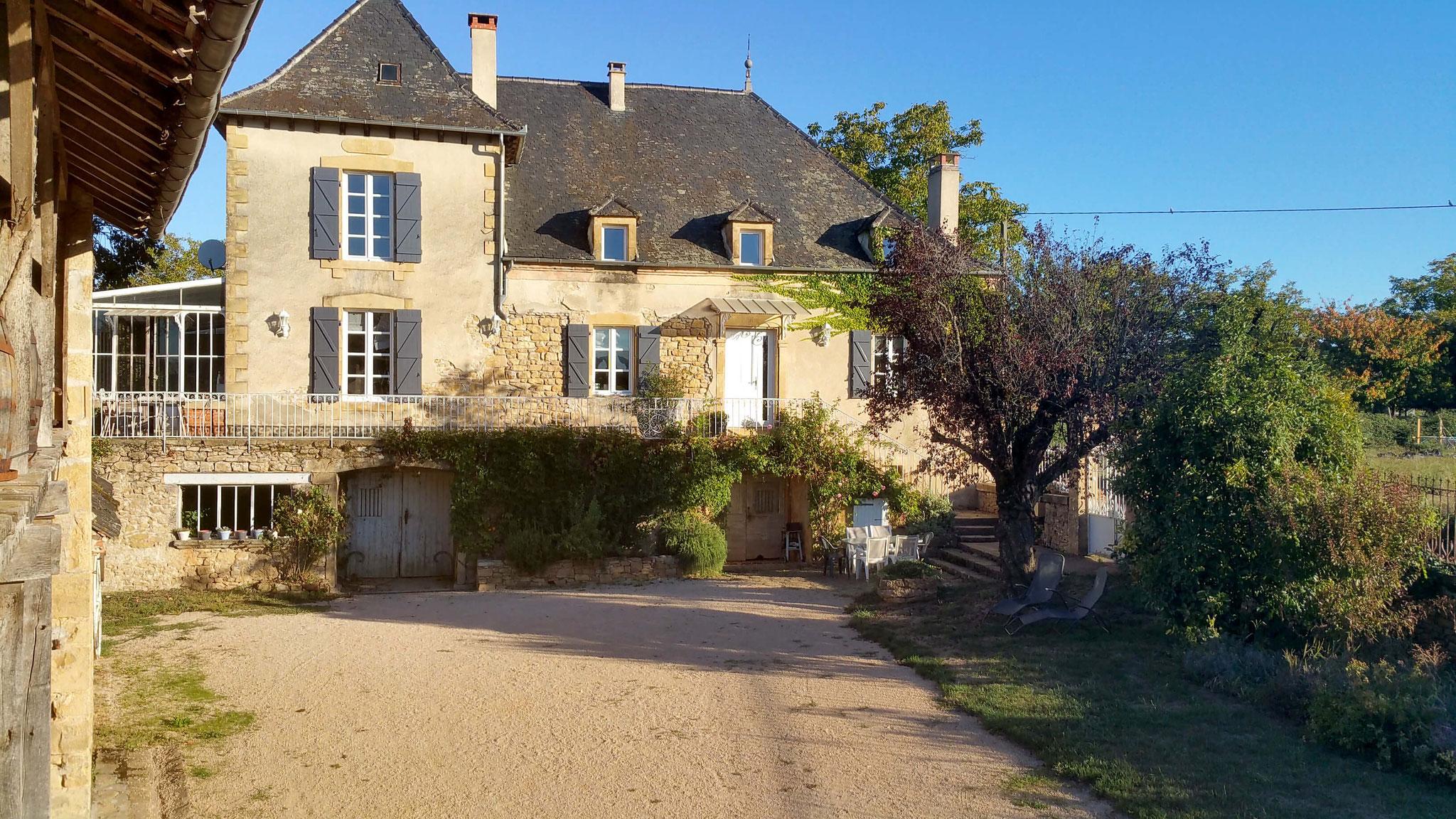 Le cuvier de Saint Martin gîte dans la vallée de la Dordogne