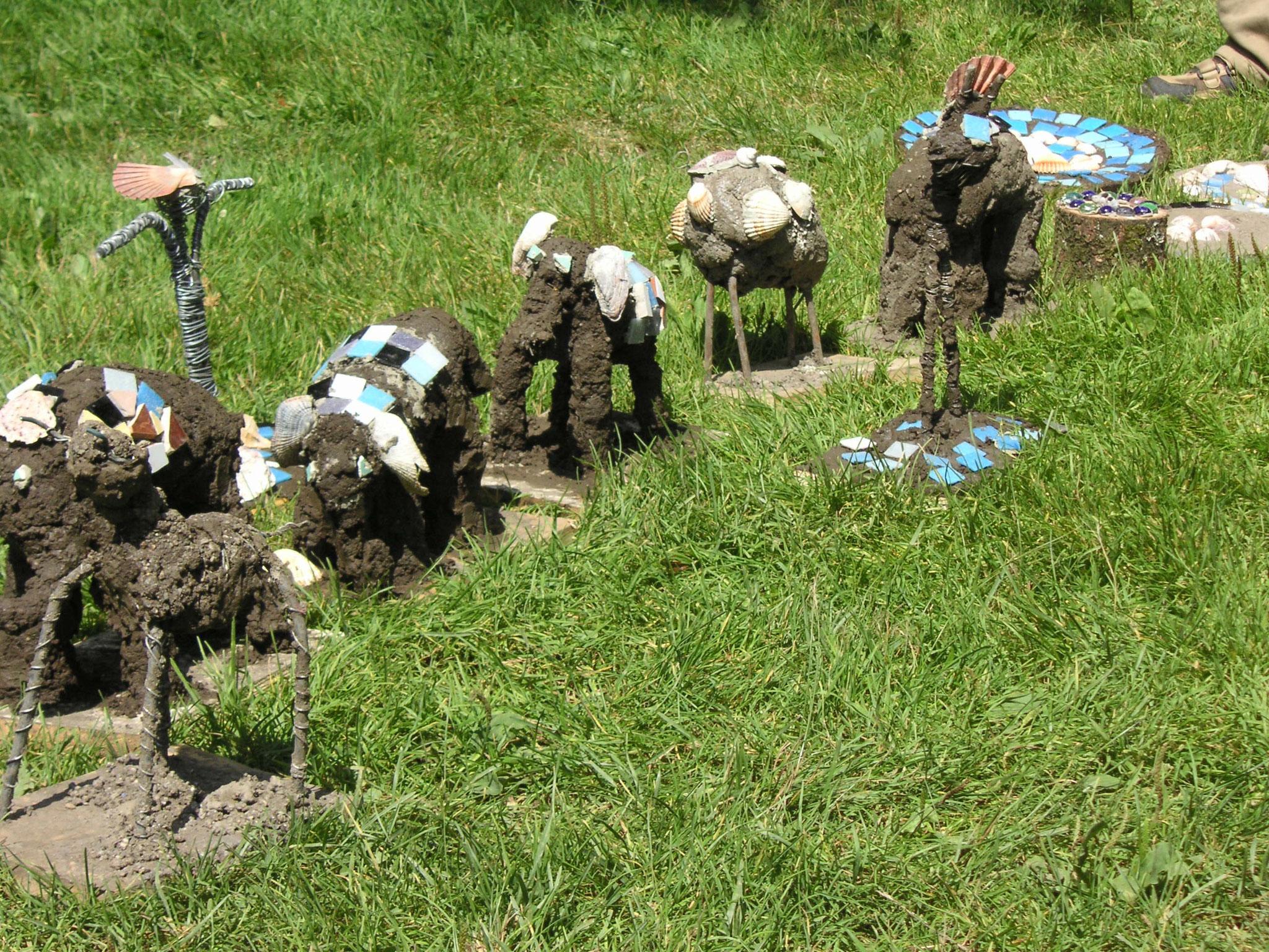 Kinder-Bildhauerkurs