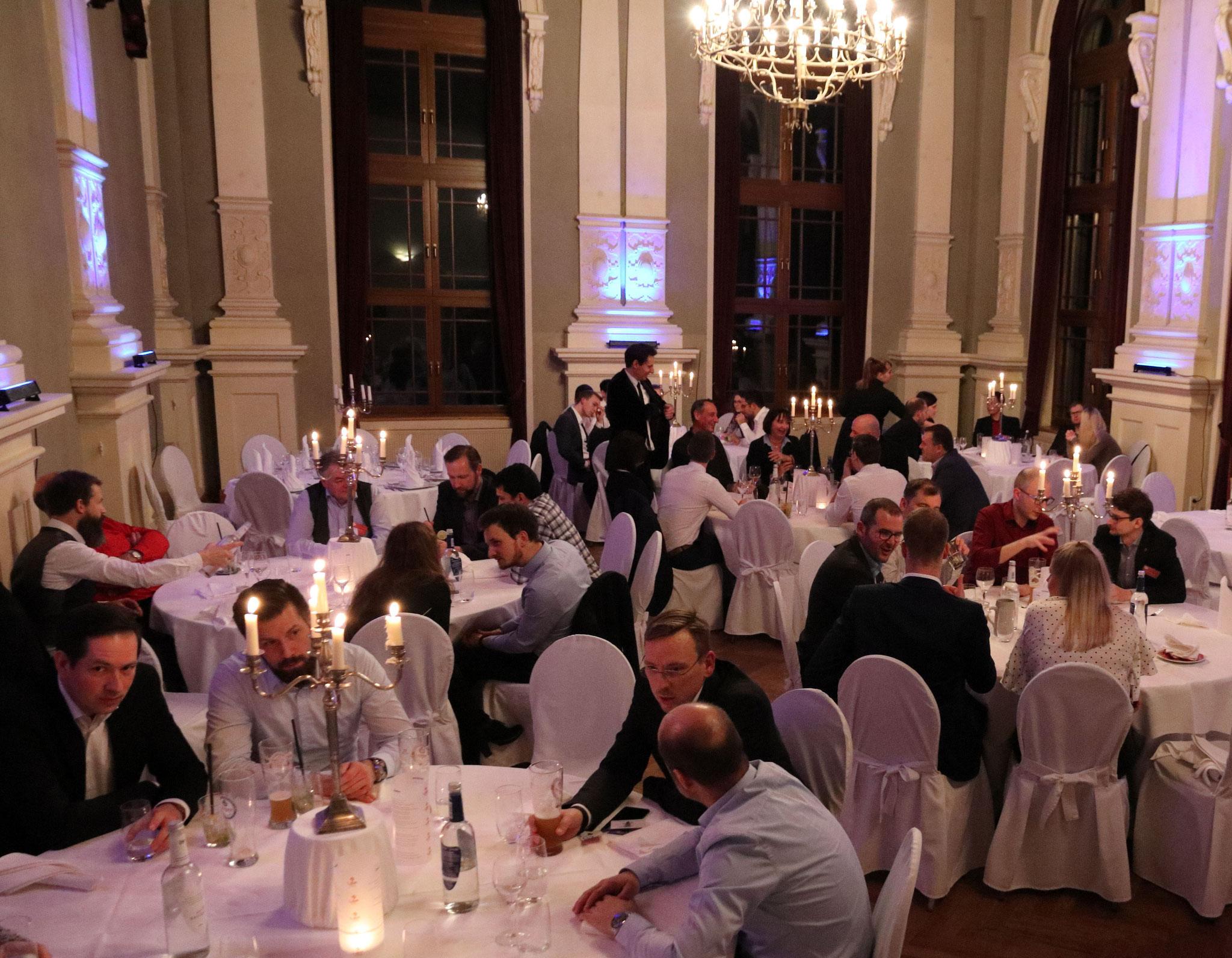 Stilvolles Ambiente und interessante Gespräche standen am Abend des ersten Veranstaltungstages auf dem Programm der LEF 2020