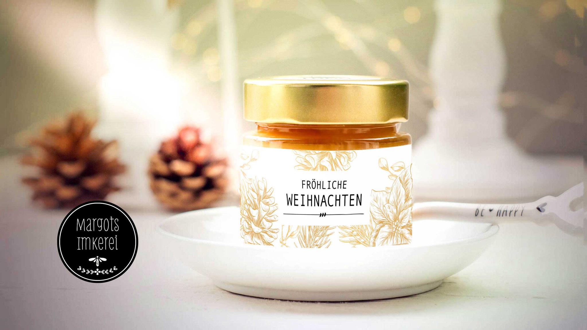 Honig als Weihnachtsgeschenk für Kunden, Gäste und Mitarbeiter