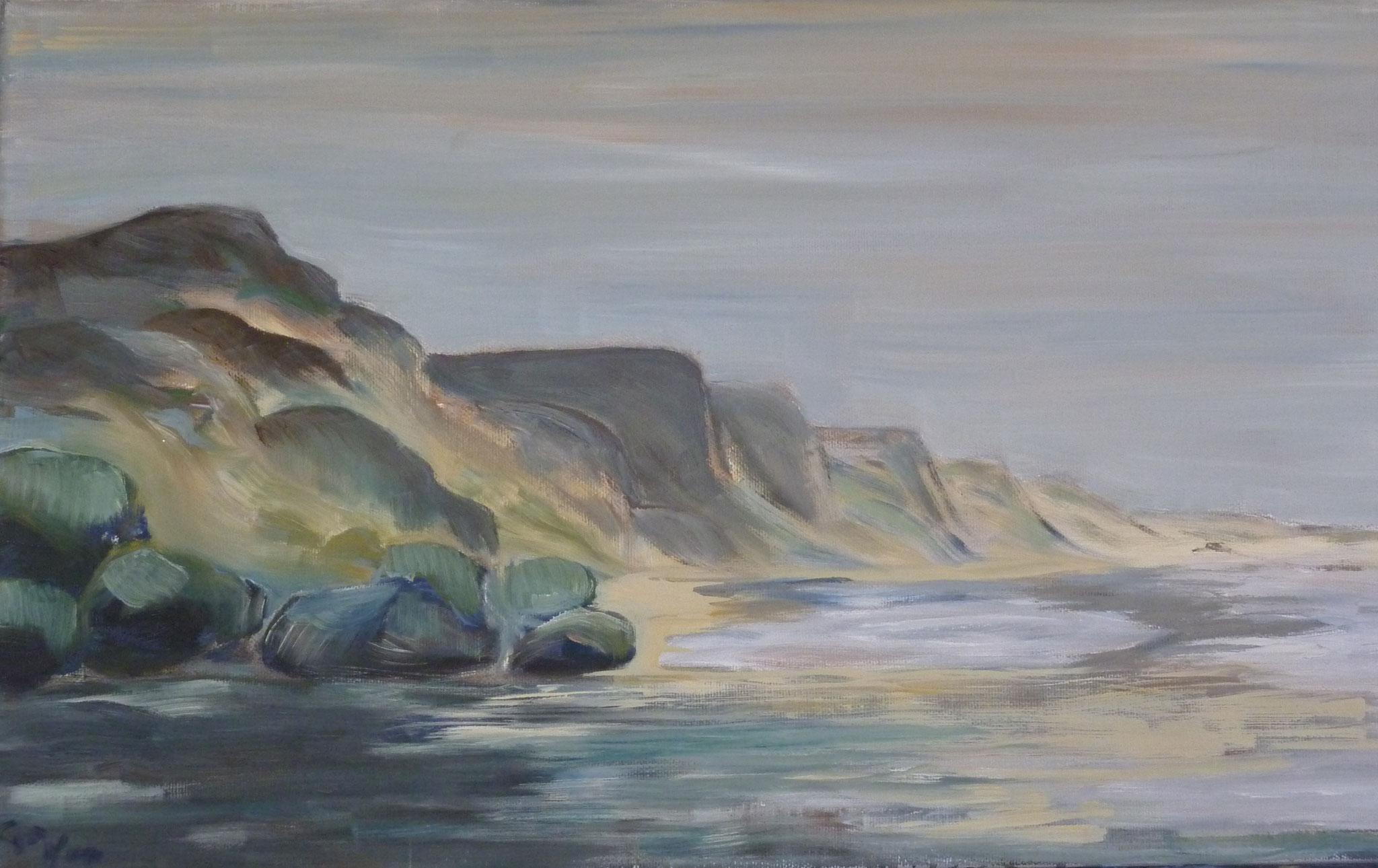 Skagen, 2002, 30 x 50cm, Öl auf Leinwand