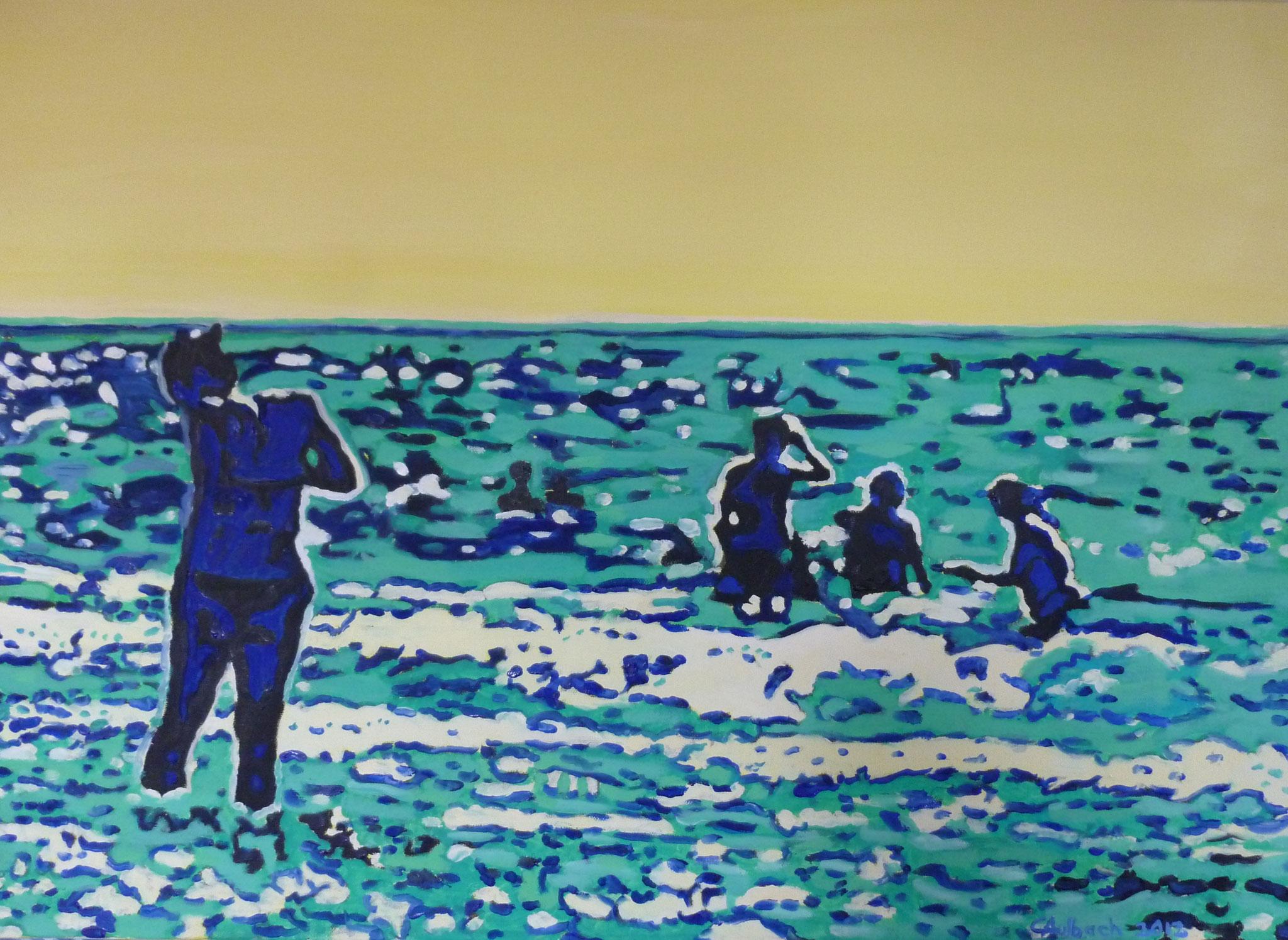 Poly Oreo, 2012, 50 x 70cm, Öl auf Leinwand