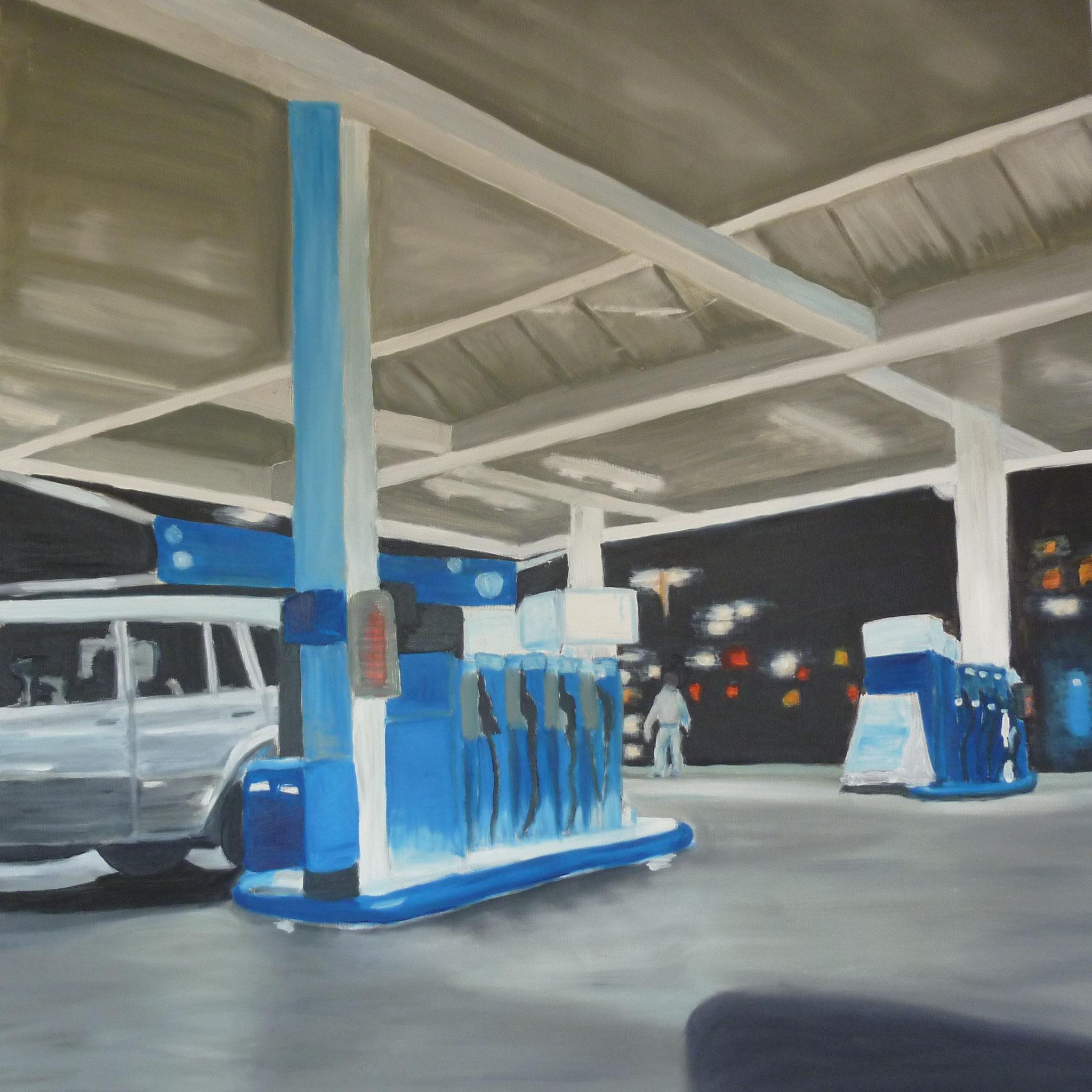 1qm Hamburg Wilhelmsburg, 2003, Öl auf Leinwand