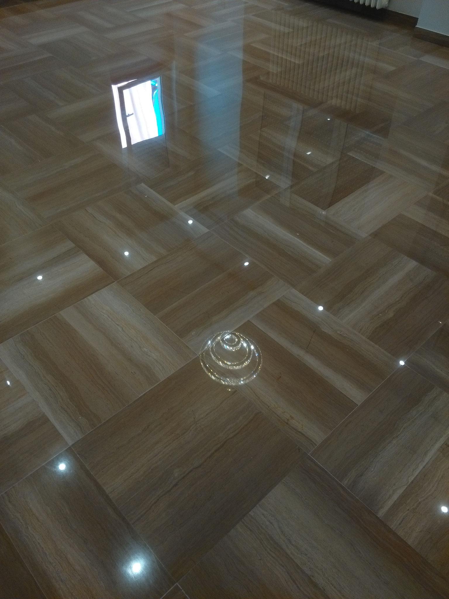 Lucidatura marmo Trani