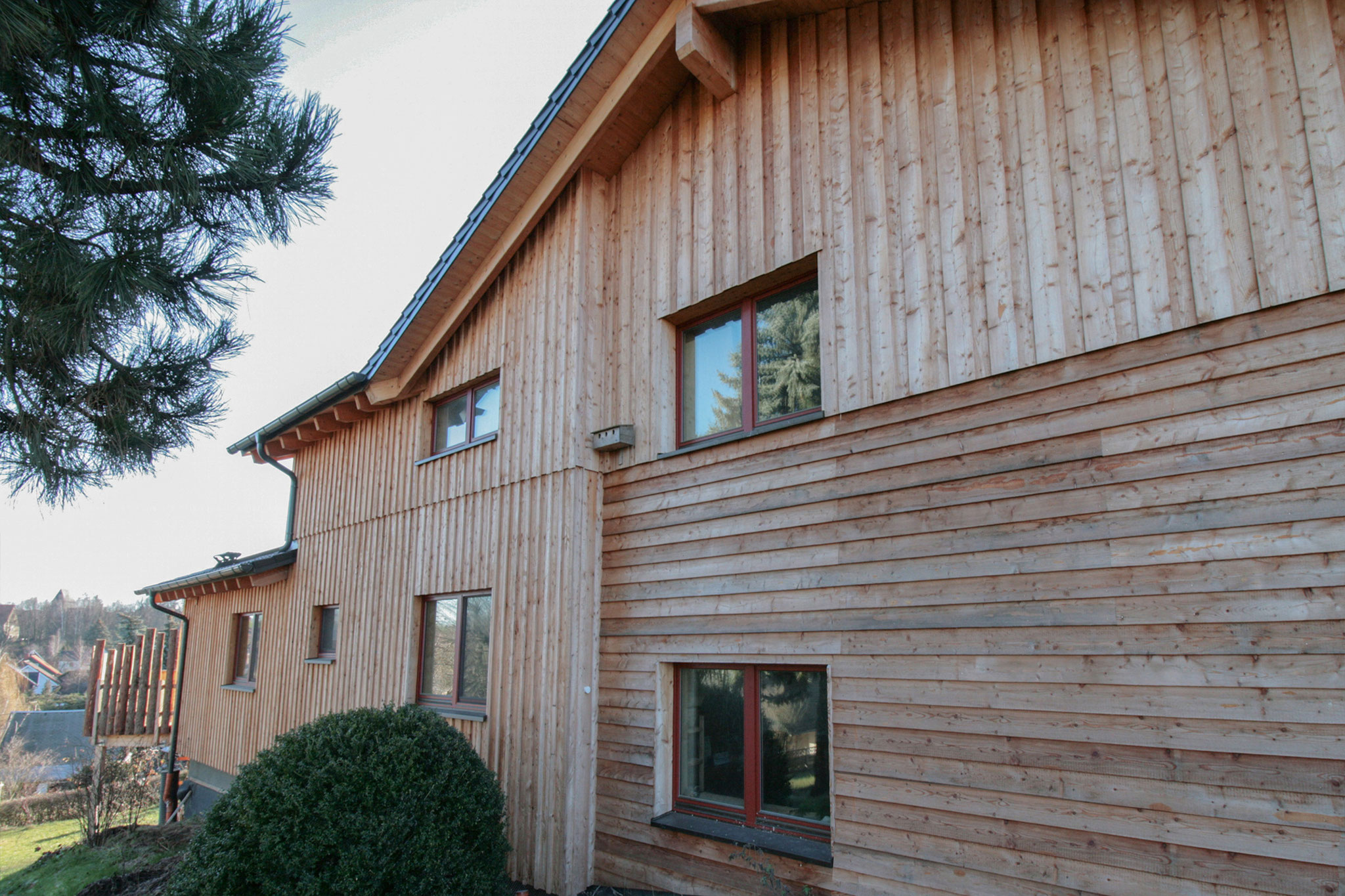 NUR-HOLZ-Haus