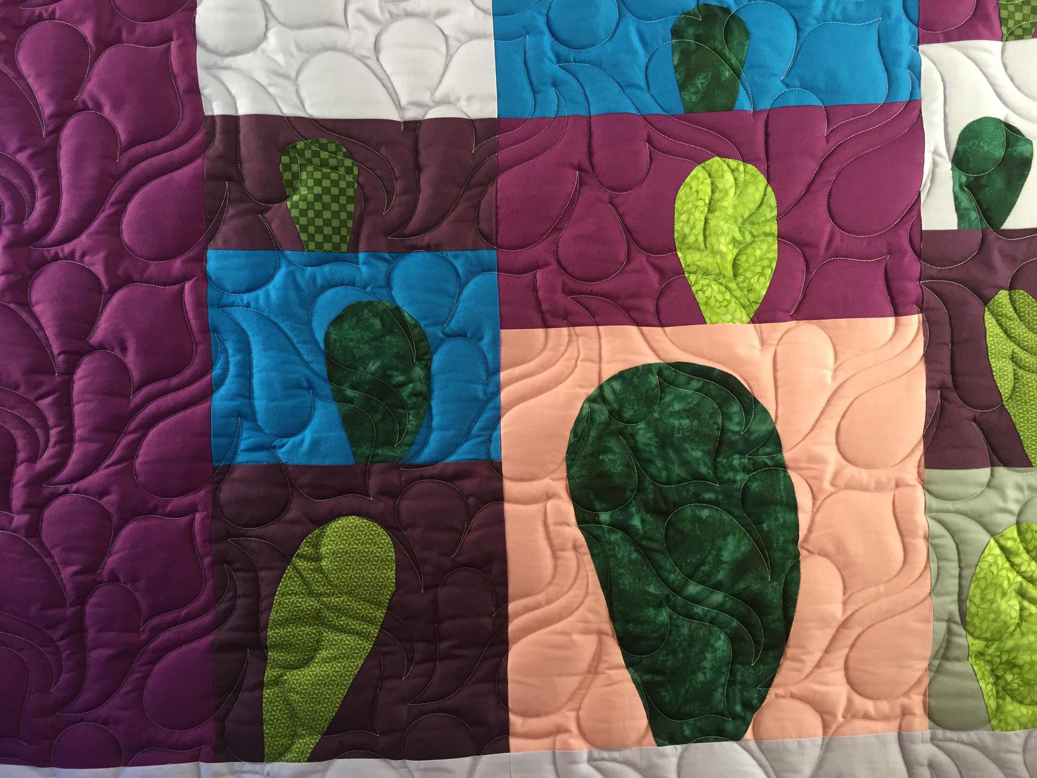 Et les cactus sont tout gonflés ! - atelier www.lequiltemoi.com