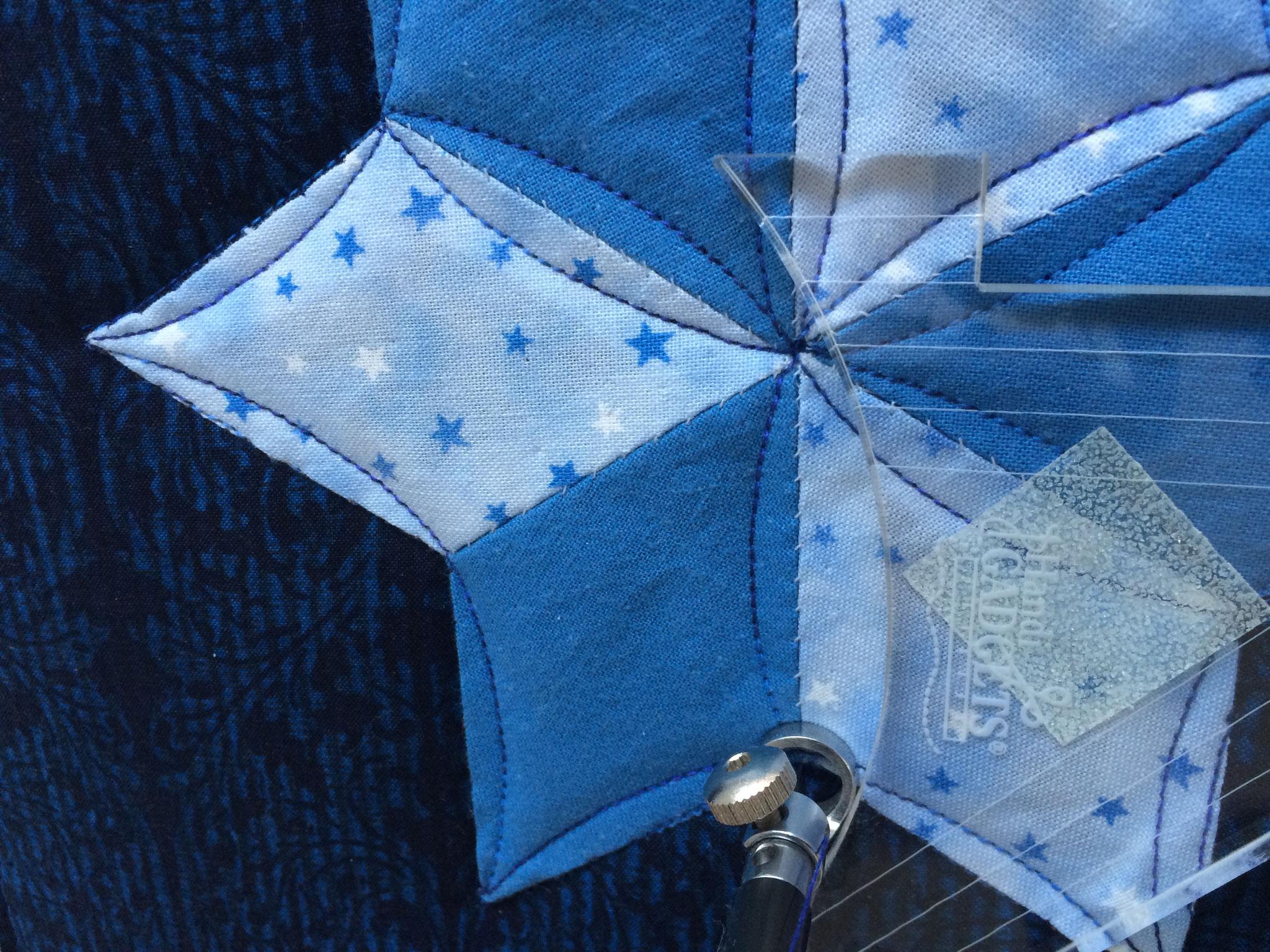 2è étoile faite avec la règle : nettement plus joli :-)