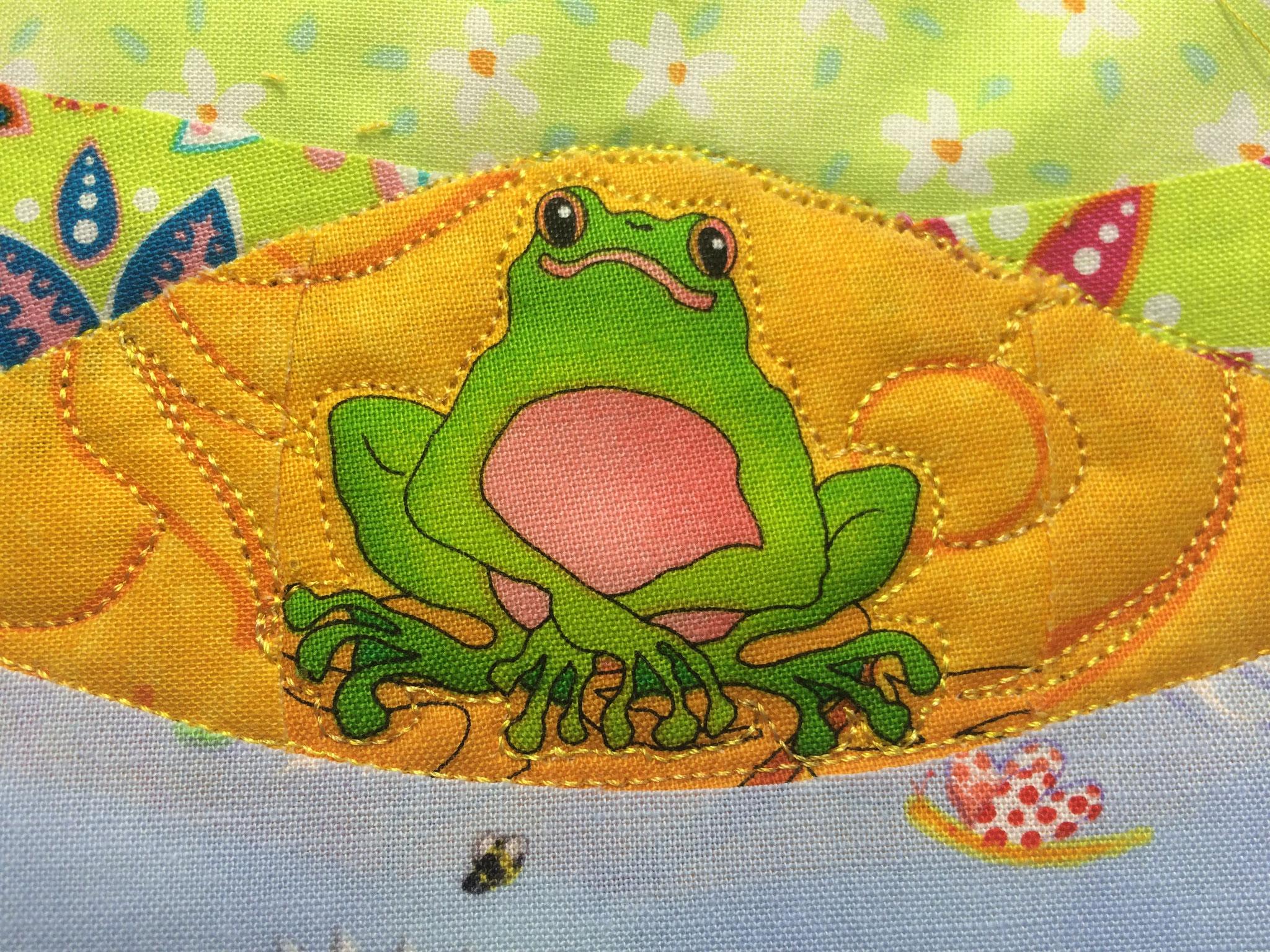 Le glorieux roi grenouille !