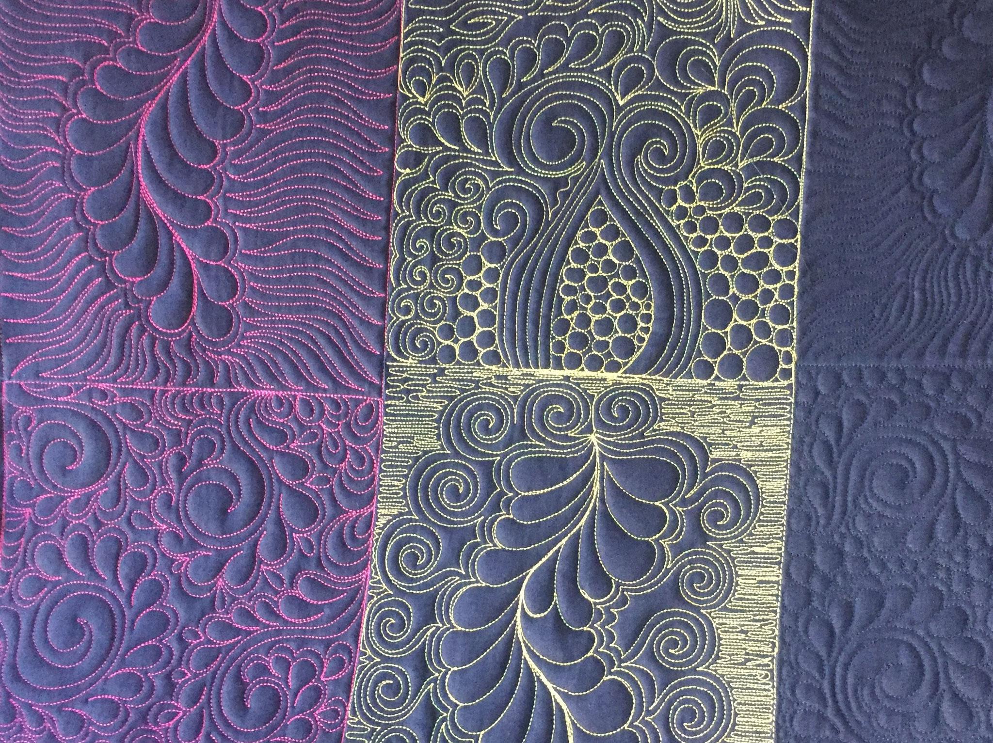 Tissu quilté - création LE QUILT émoi