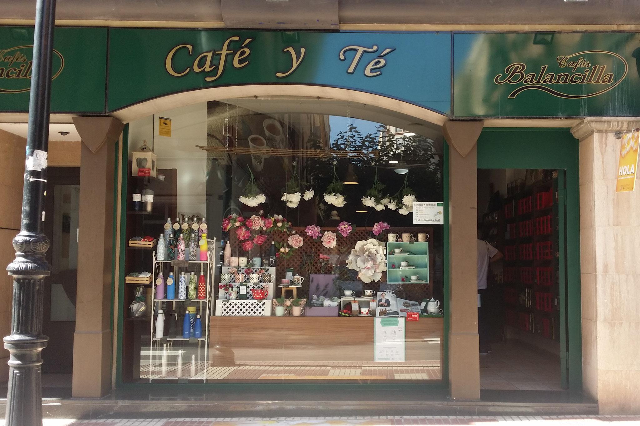 <b>Café y Té Balancilla</b><br>Tienda Especializada