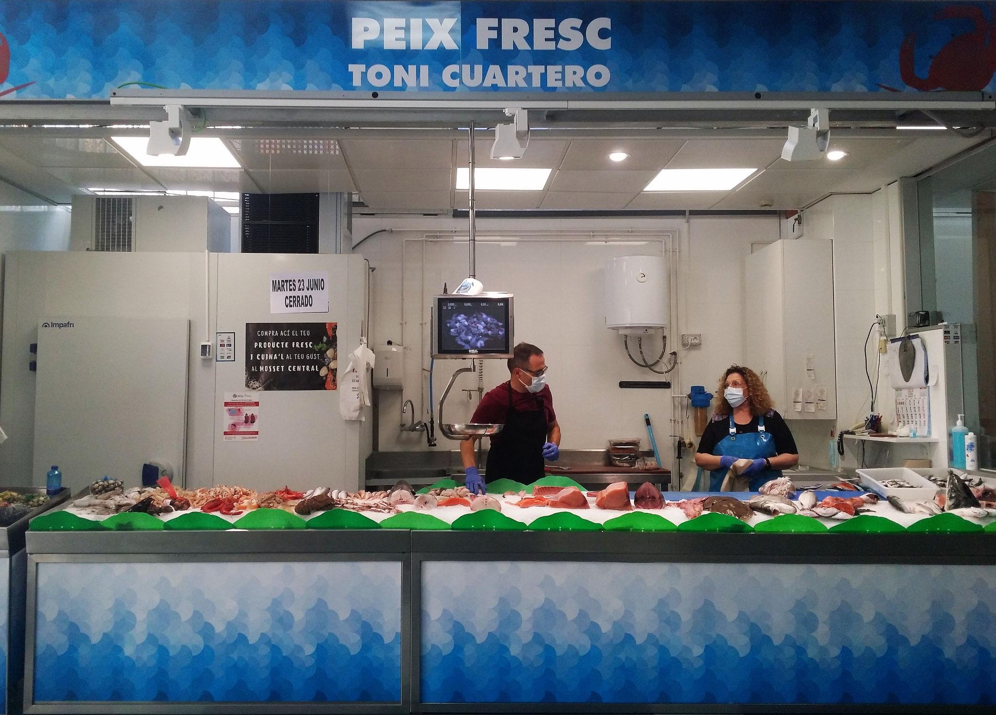 <b>Peix Frec Toni Cuartero</b><br>Pescados y Mariscos