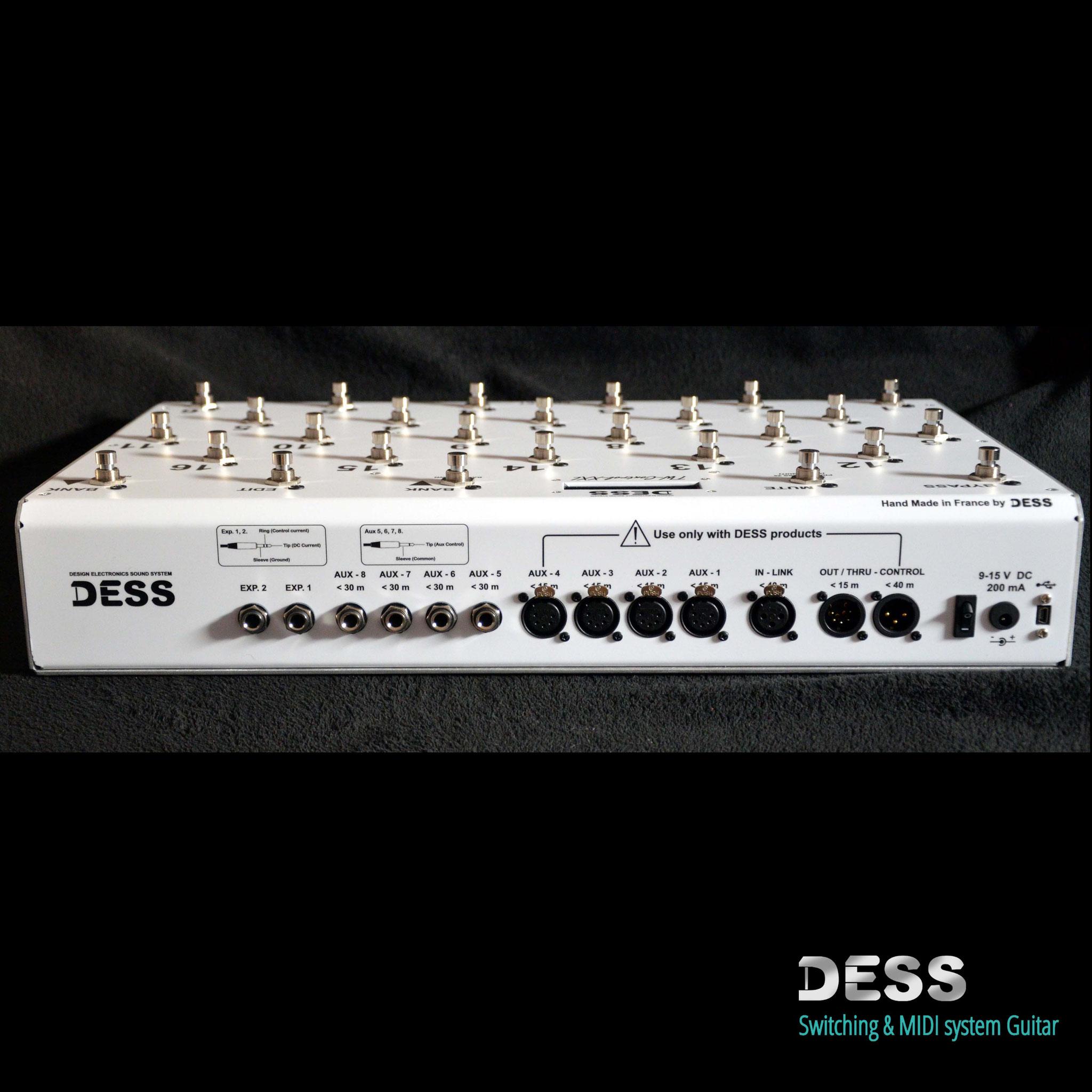 TW-Control XXL, DESS, Footcontroler, Pedalier, 27 Switch