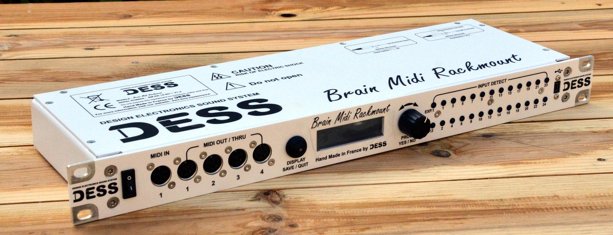 Brain Midi Rackmount V1, 2018 Jean Louis Aubert