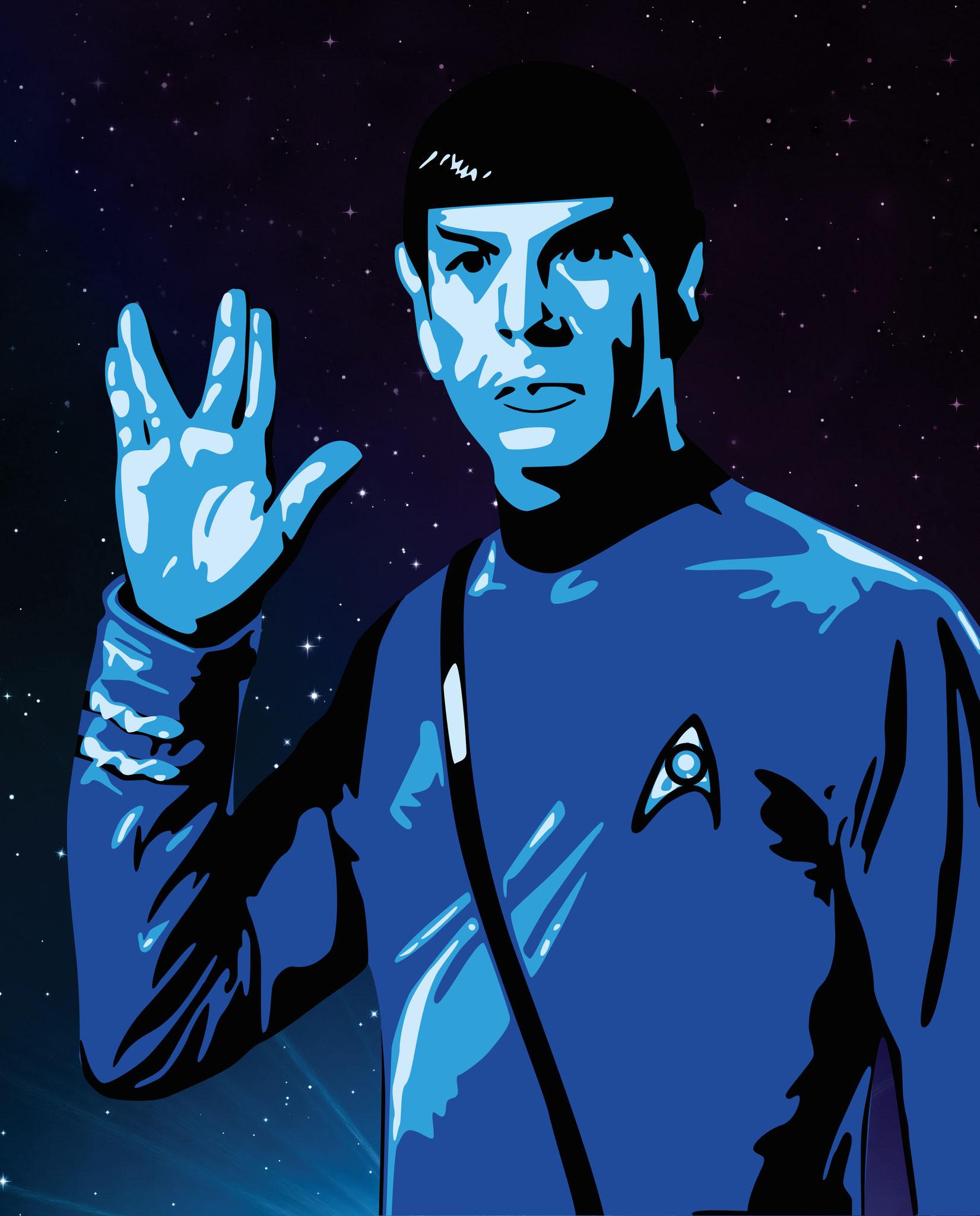Dessins sur Ordinateur > Spock