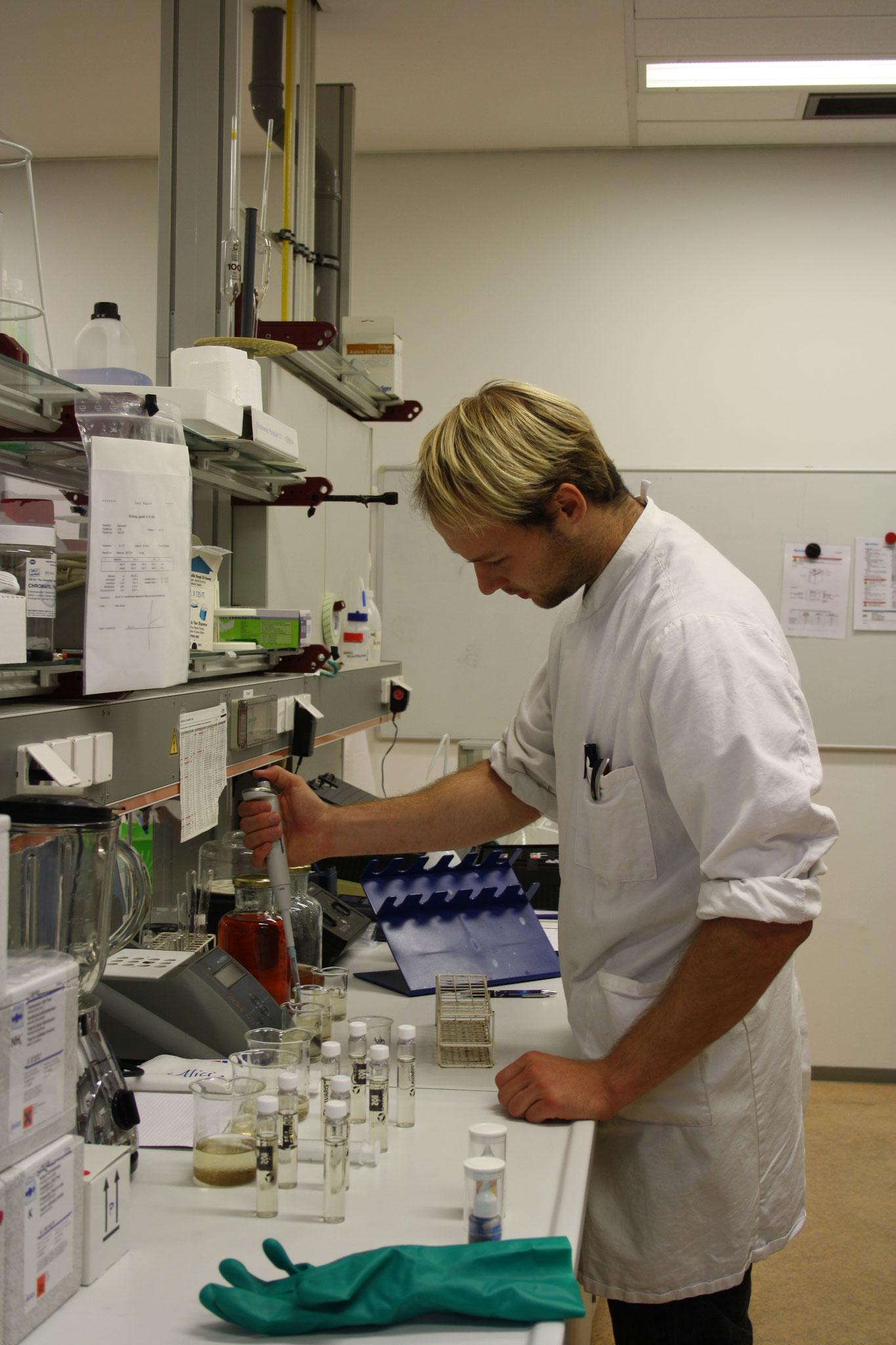 Wasser Analysen im Labor