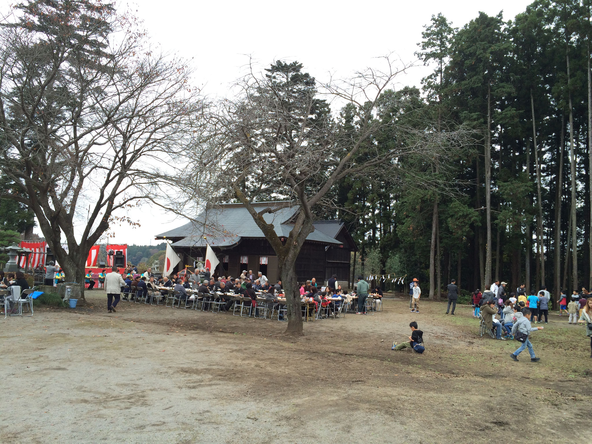 秋の文化祭@両宮神社