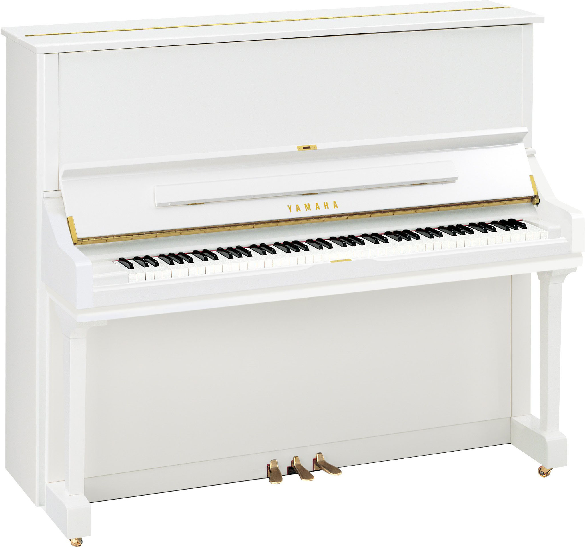 Yamaha U3 Polished White