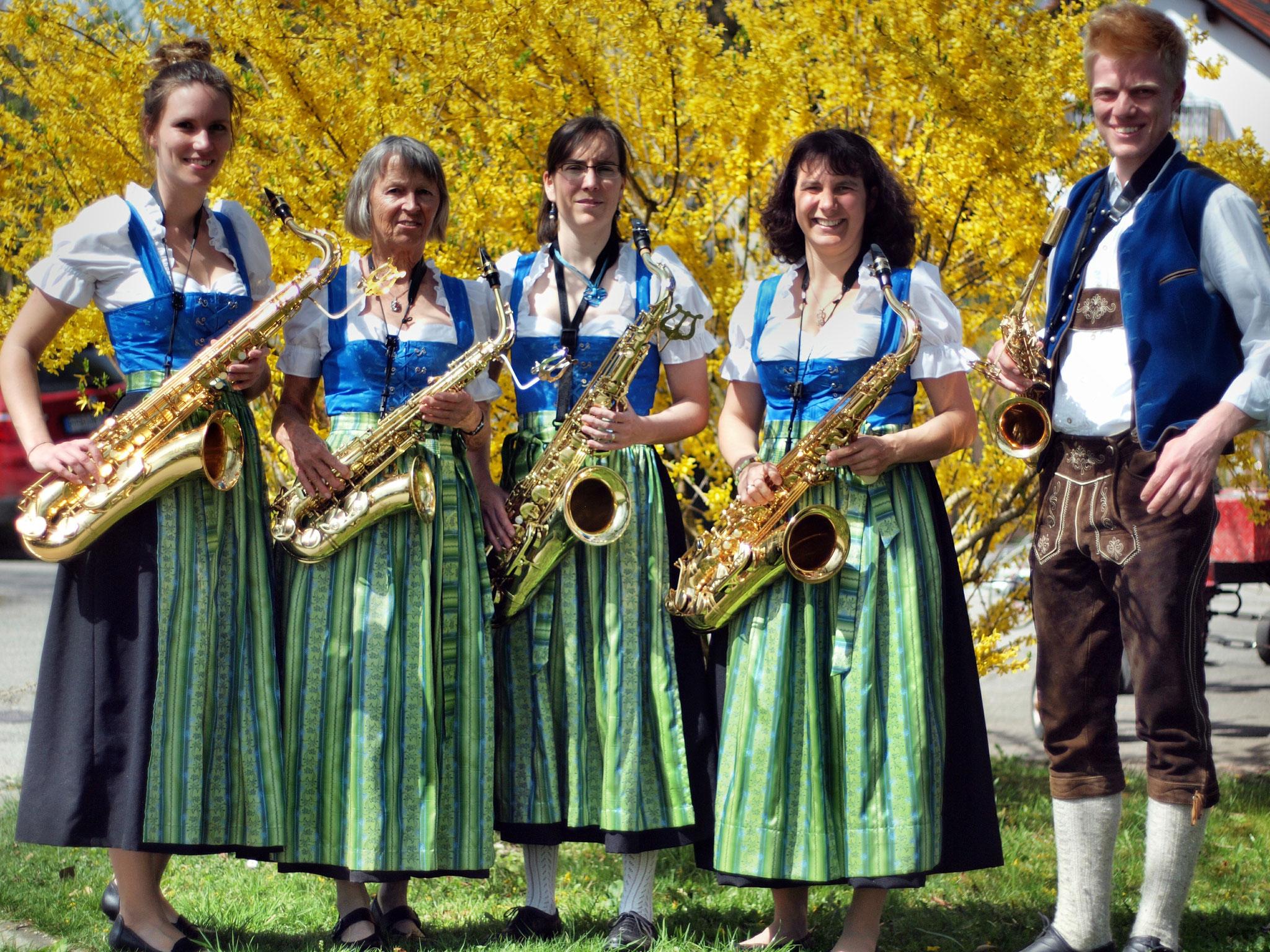 Die Aktiven im Jahr 2018 - Saxophon