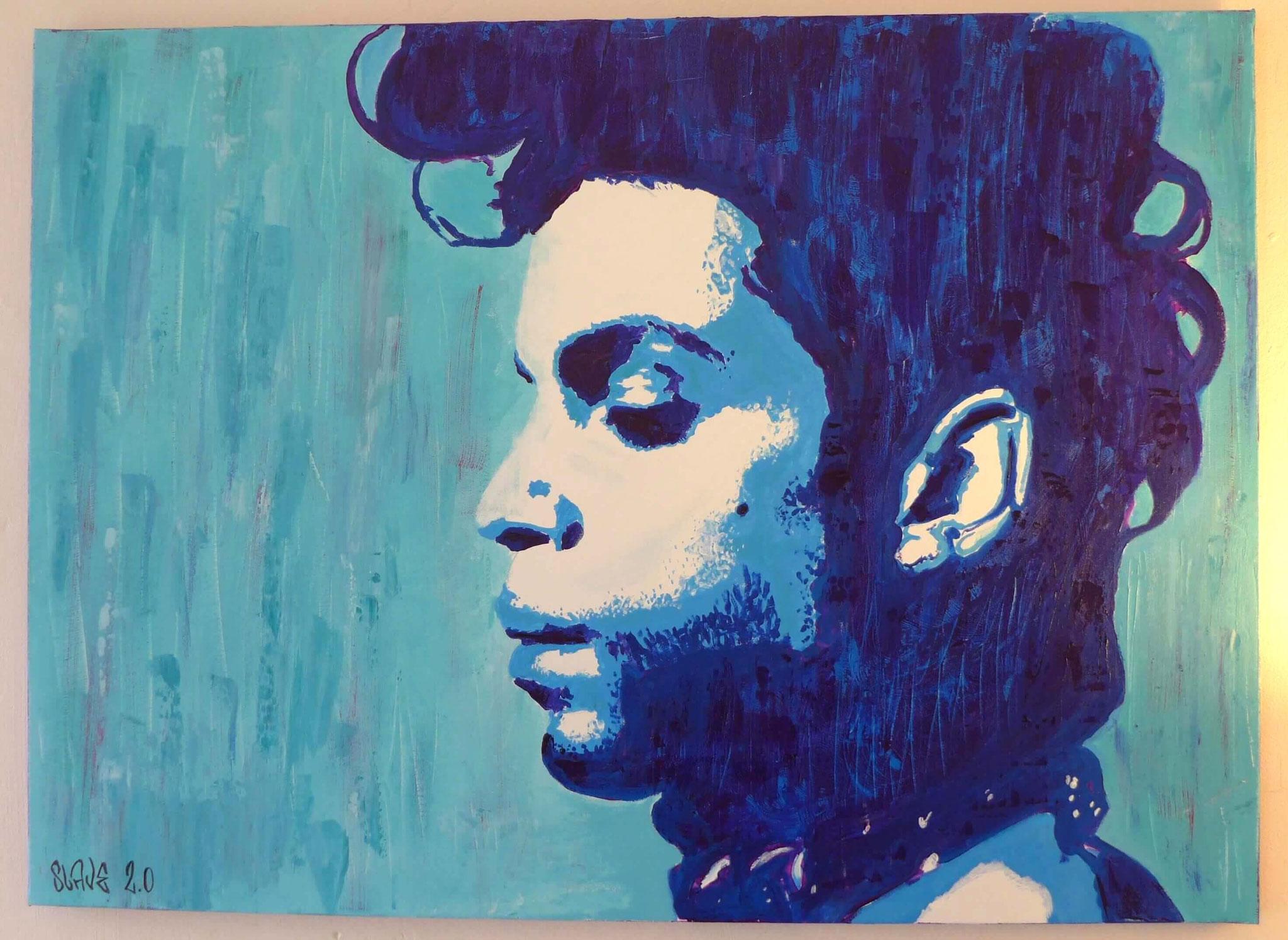 achat tableau prince street art - slave 2.0
