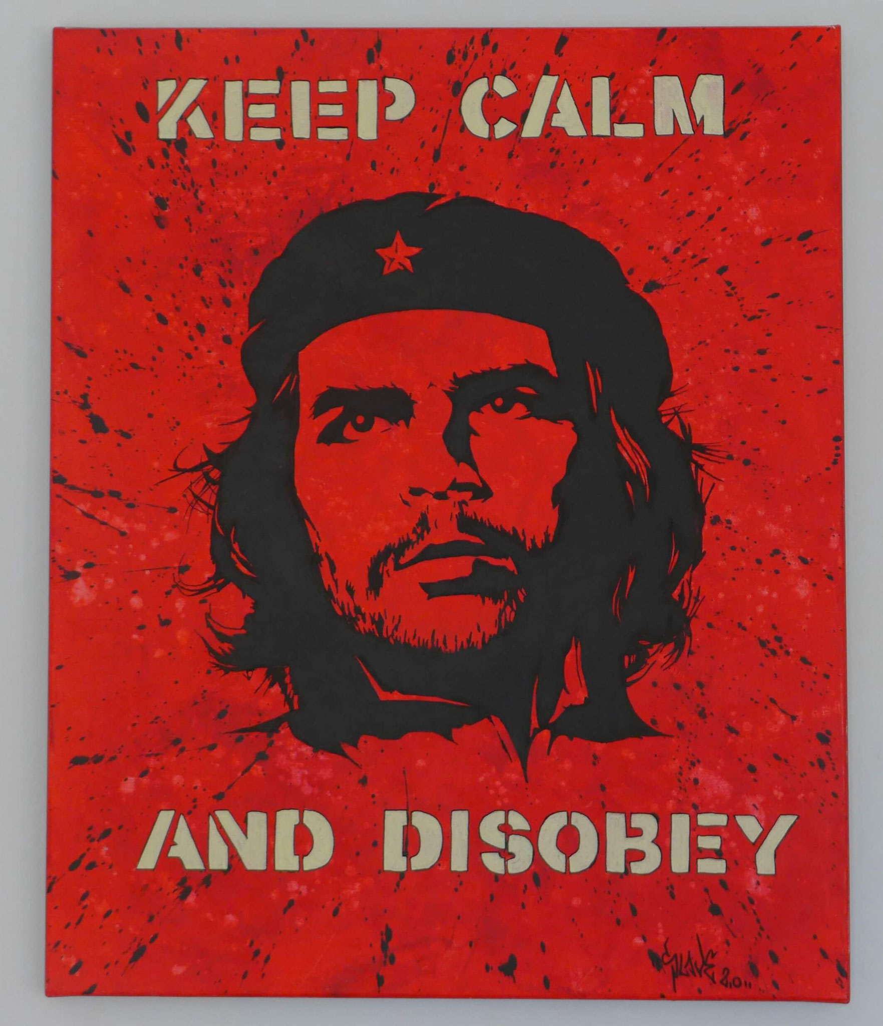 che-guevara-street-art-keep-calm-and-disobey-tableau-slave-2.0