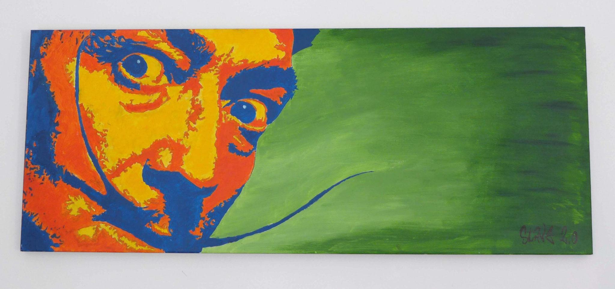 Tableau street art Salvador Dali- Slave 2.0