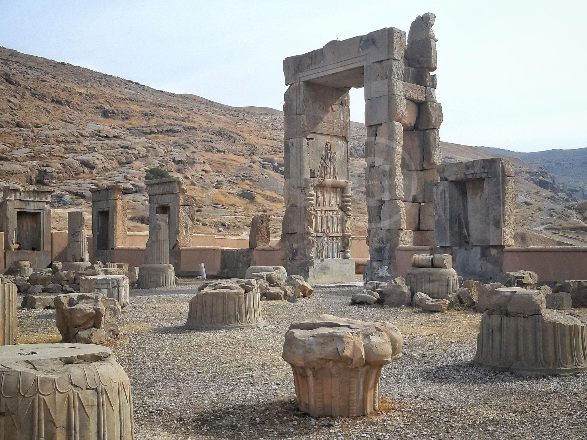 Palazzo delle Cento Colonne - Persepoli (Iran)
