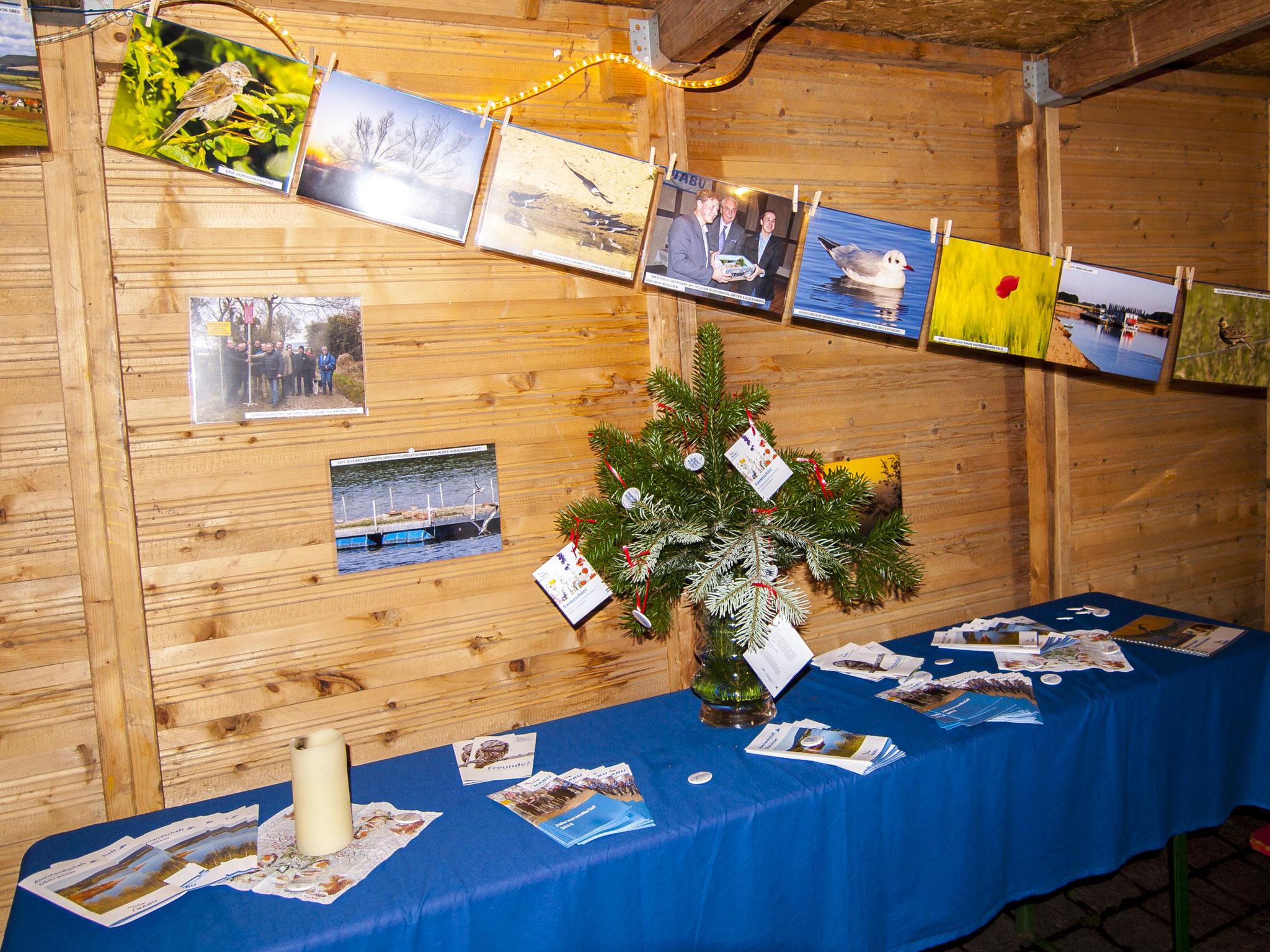 Der Informations-Tisch. - Foto: Kathy Büscher