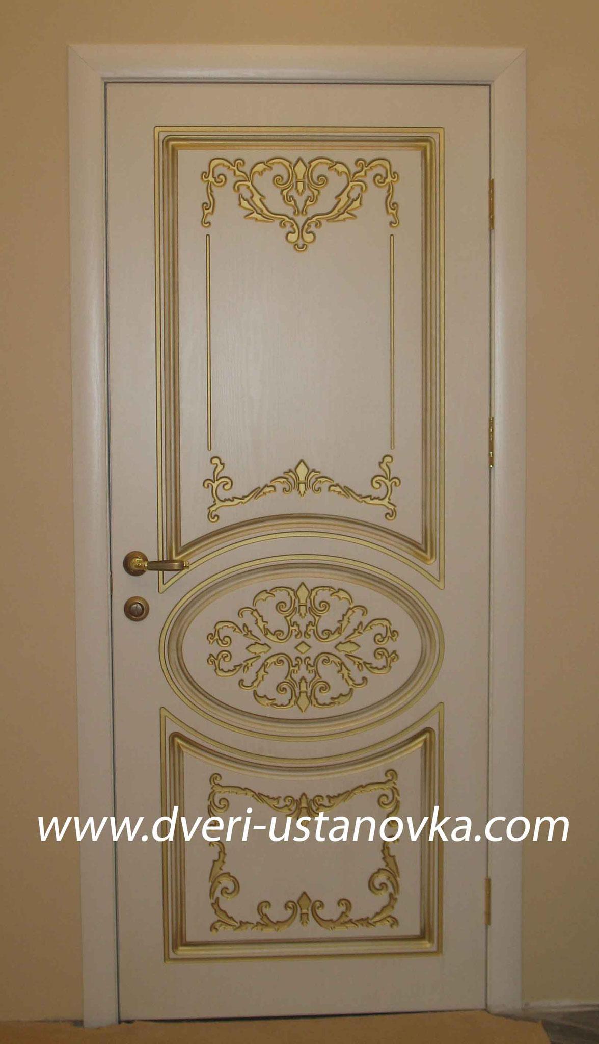 Фото 2.2 Одностворчатая межкомнатная дверь без остекления.
