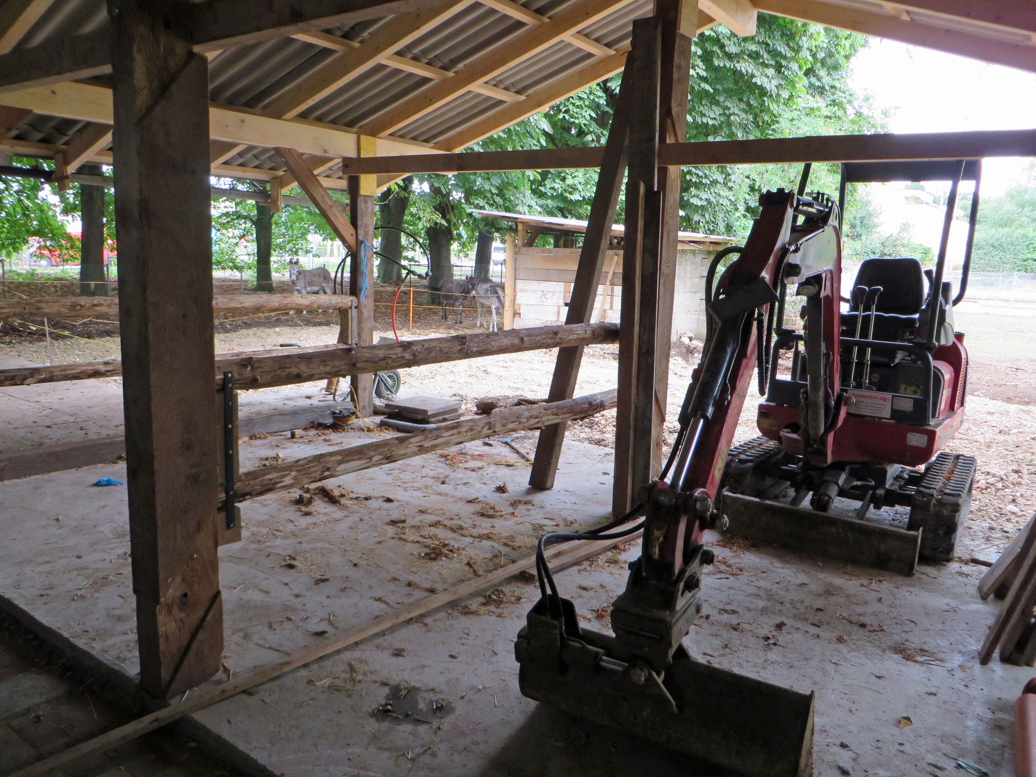 repairing and building stables